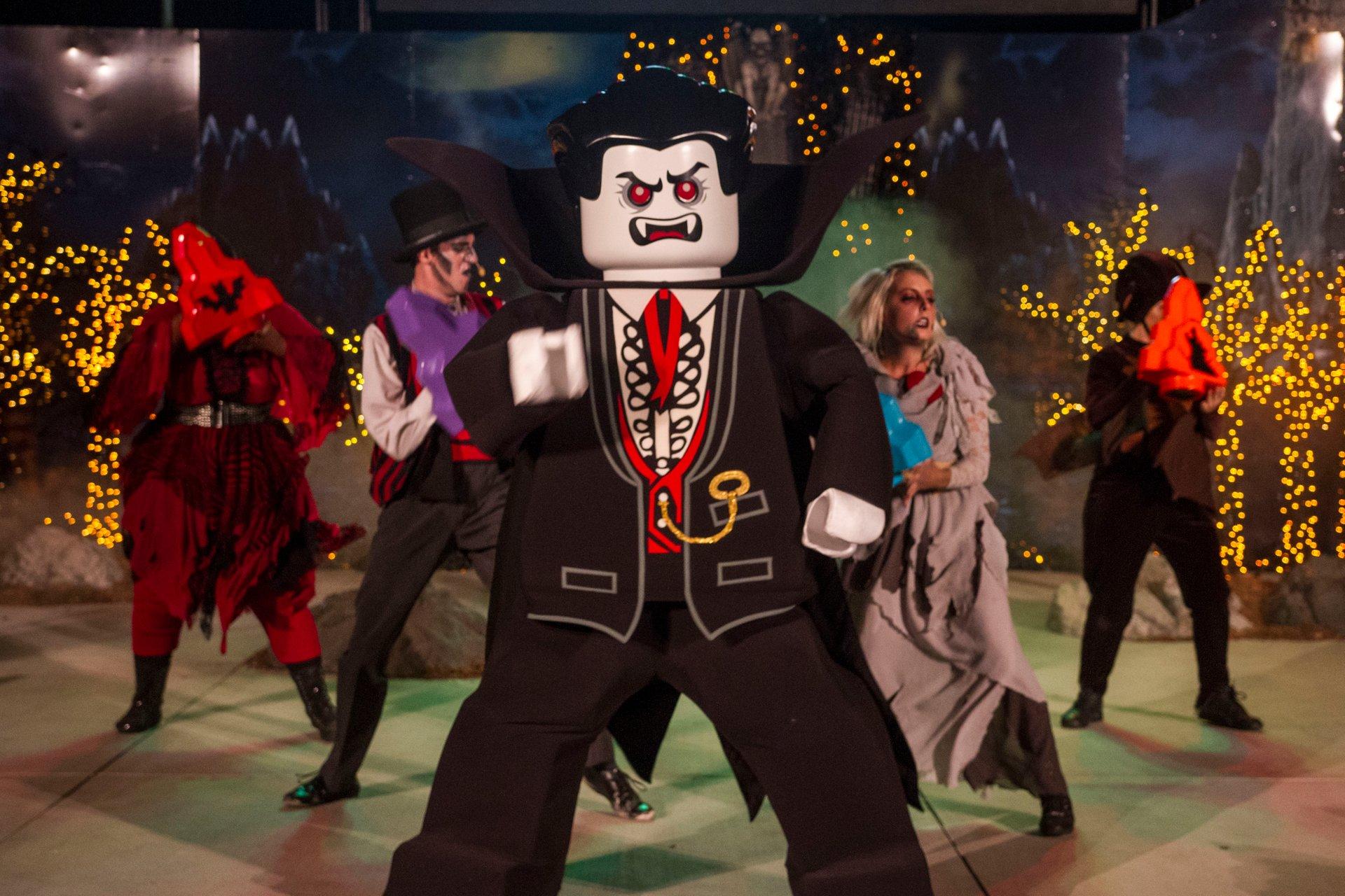 Vampire Show during Brick-or-Treat at Legoland California 2020