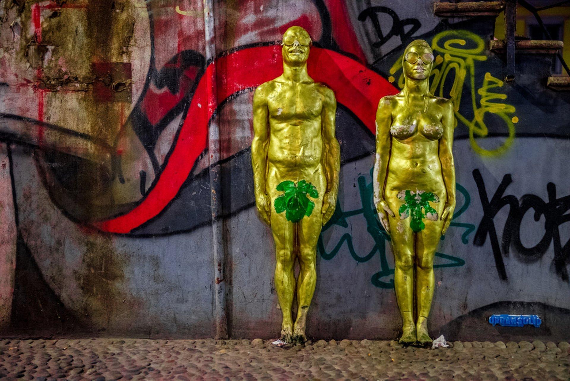 Best time for Isola Street Art 2020