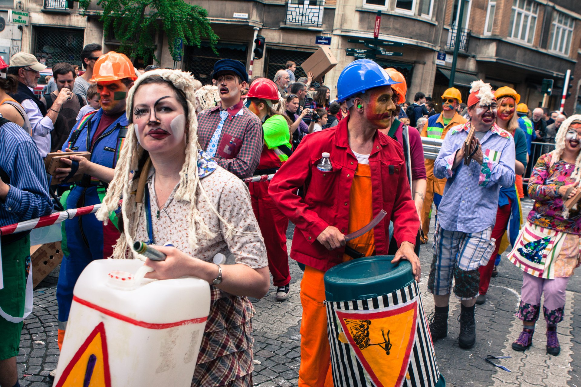 Best time for Zinneke Parade in Brussels 2020