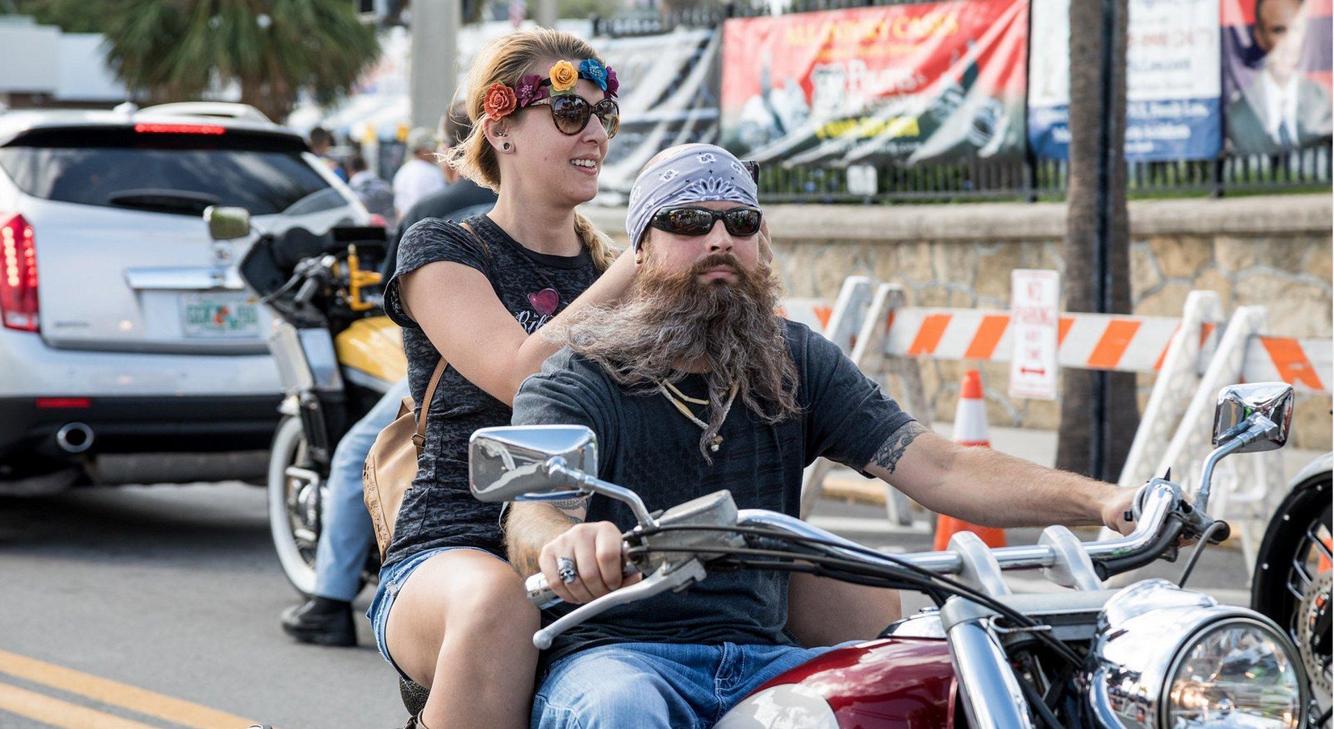 Best time for Daytona Beach Bike Week 2020