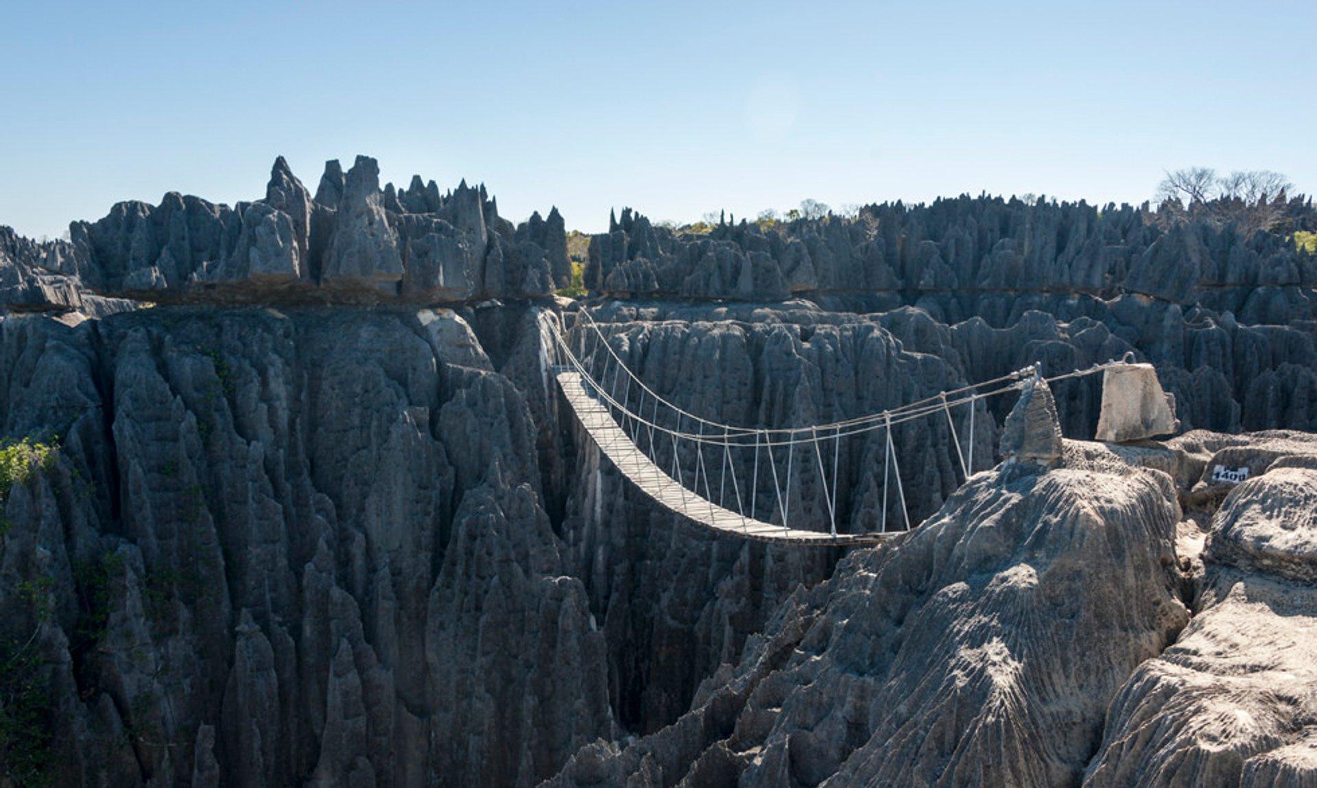Suspension Bridges in Madagascar 2019 - Best Time