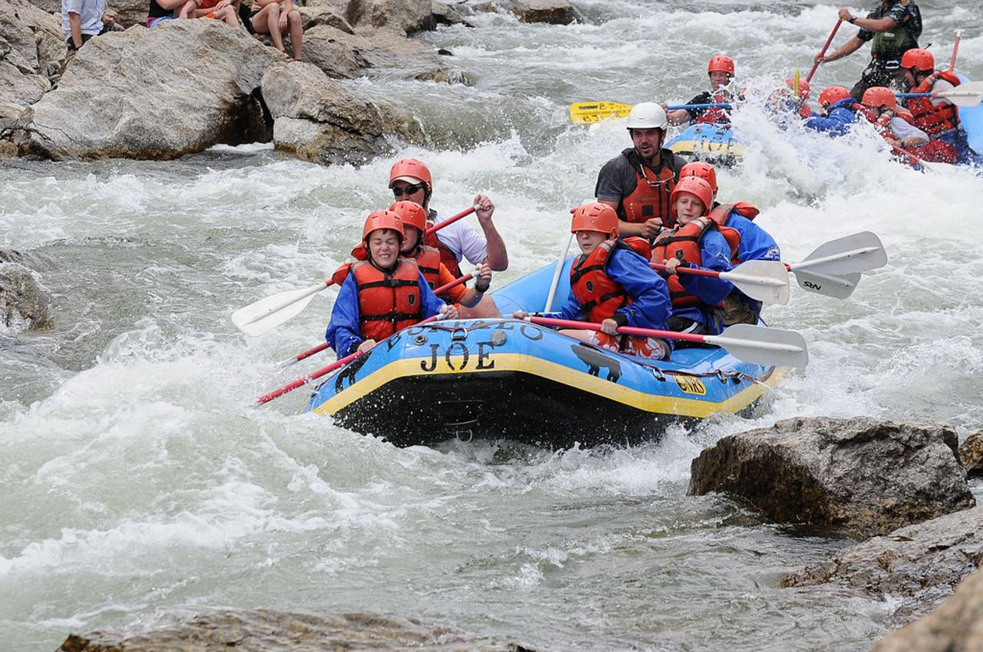 Best time for Whitewater Rafting in Colorado 2020