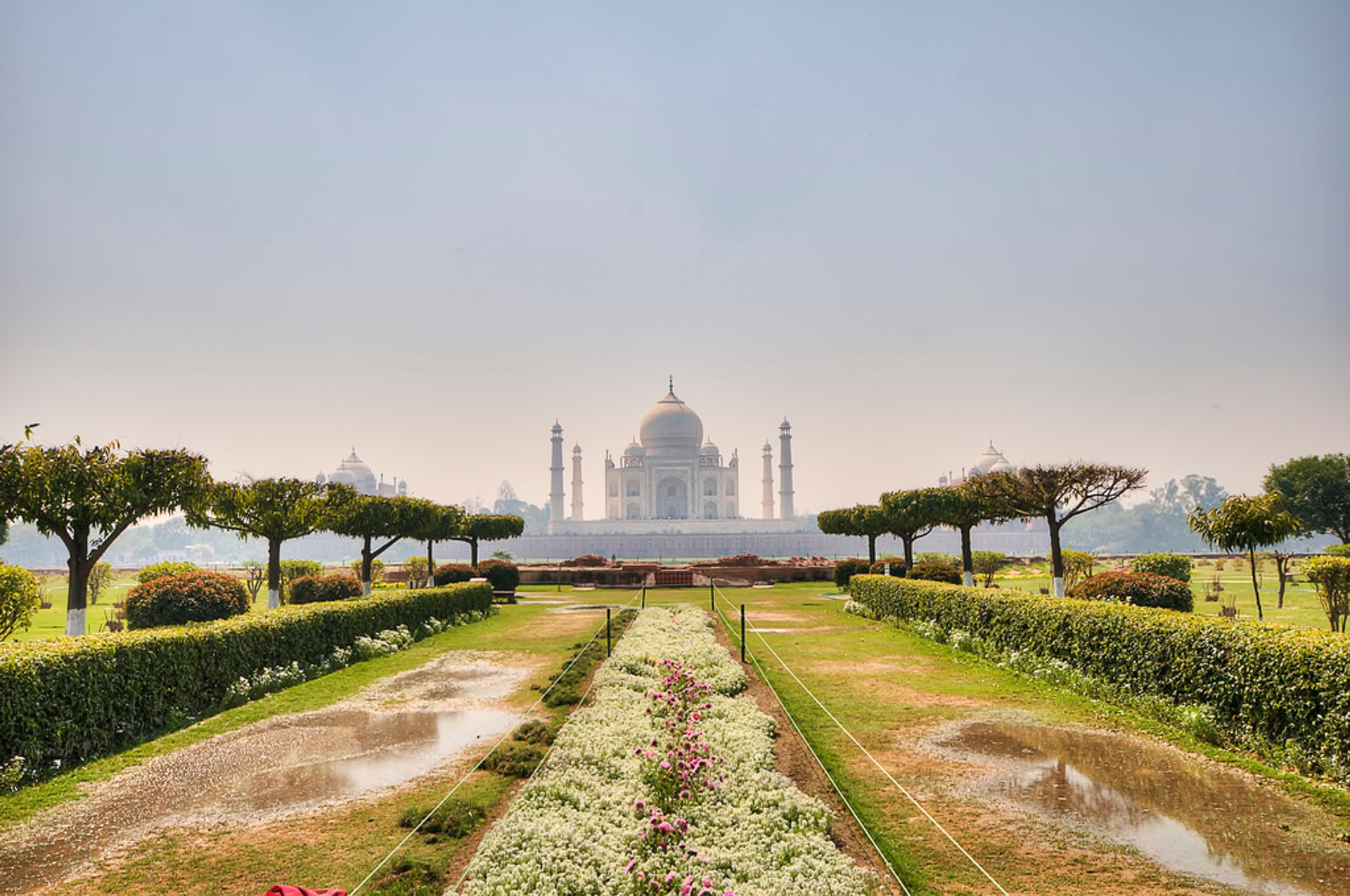 Gardens of Agra after the Monsoon in Taj Mahal and Agra  2020 - Best Time