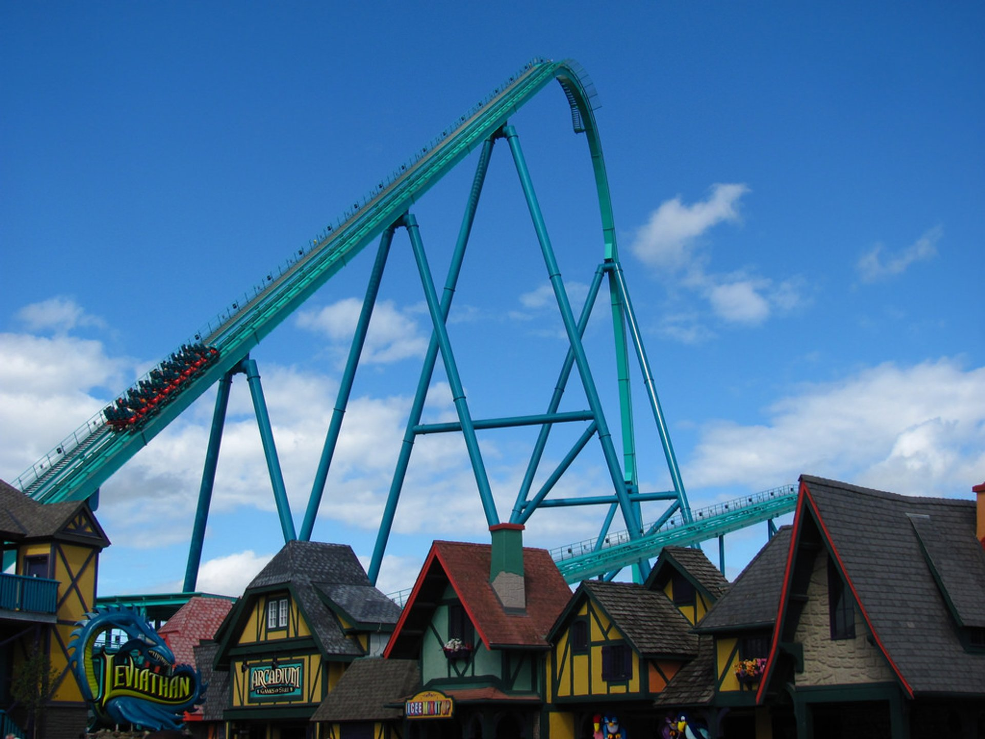 At 306 feet tall, Leviathan is kinda hard to miss.