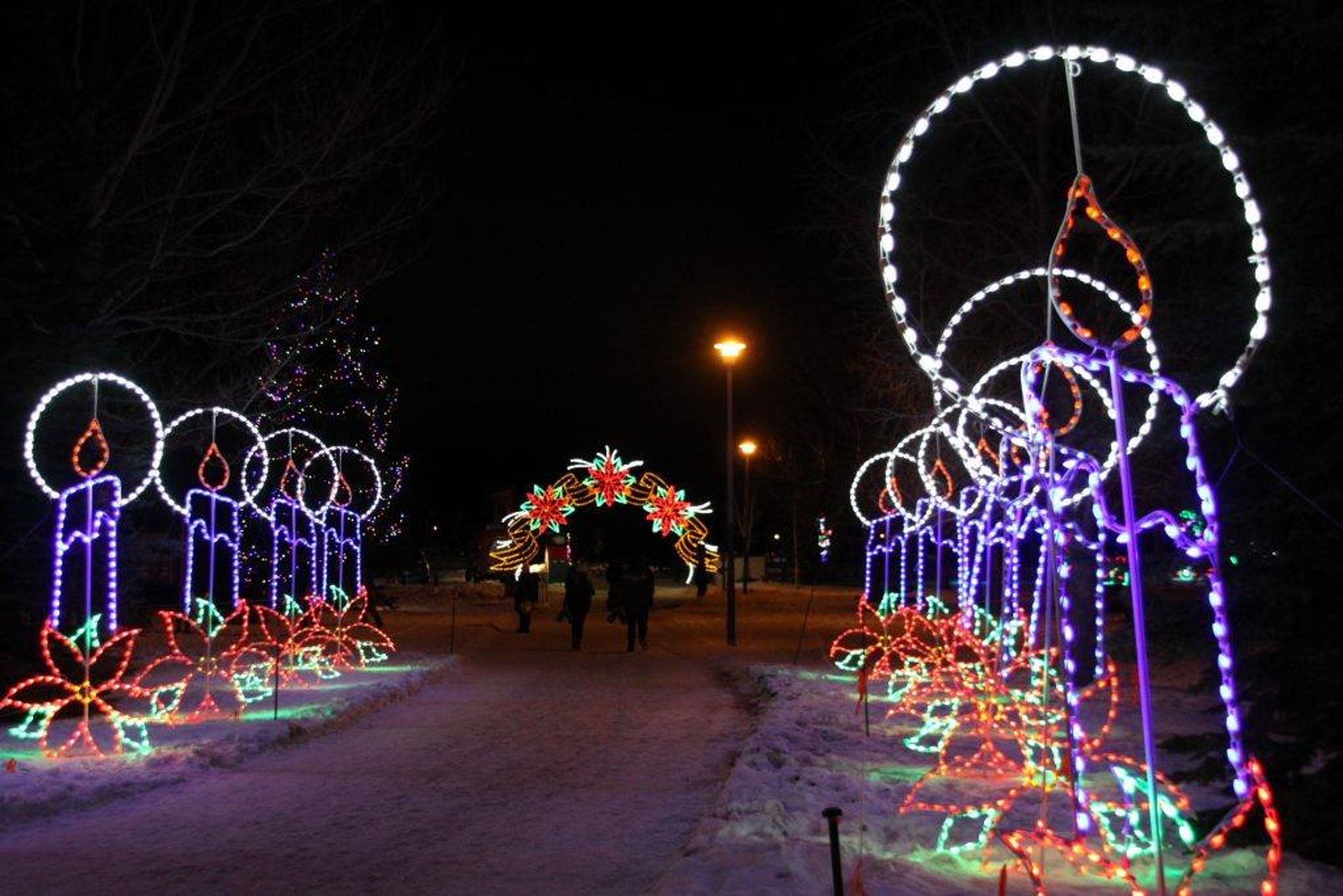 Airdrie Festival of Lights in Alberta - Best Time