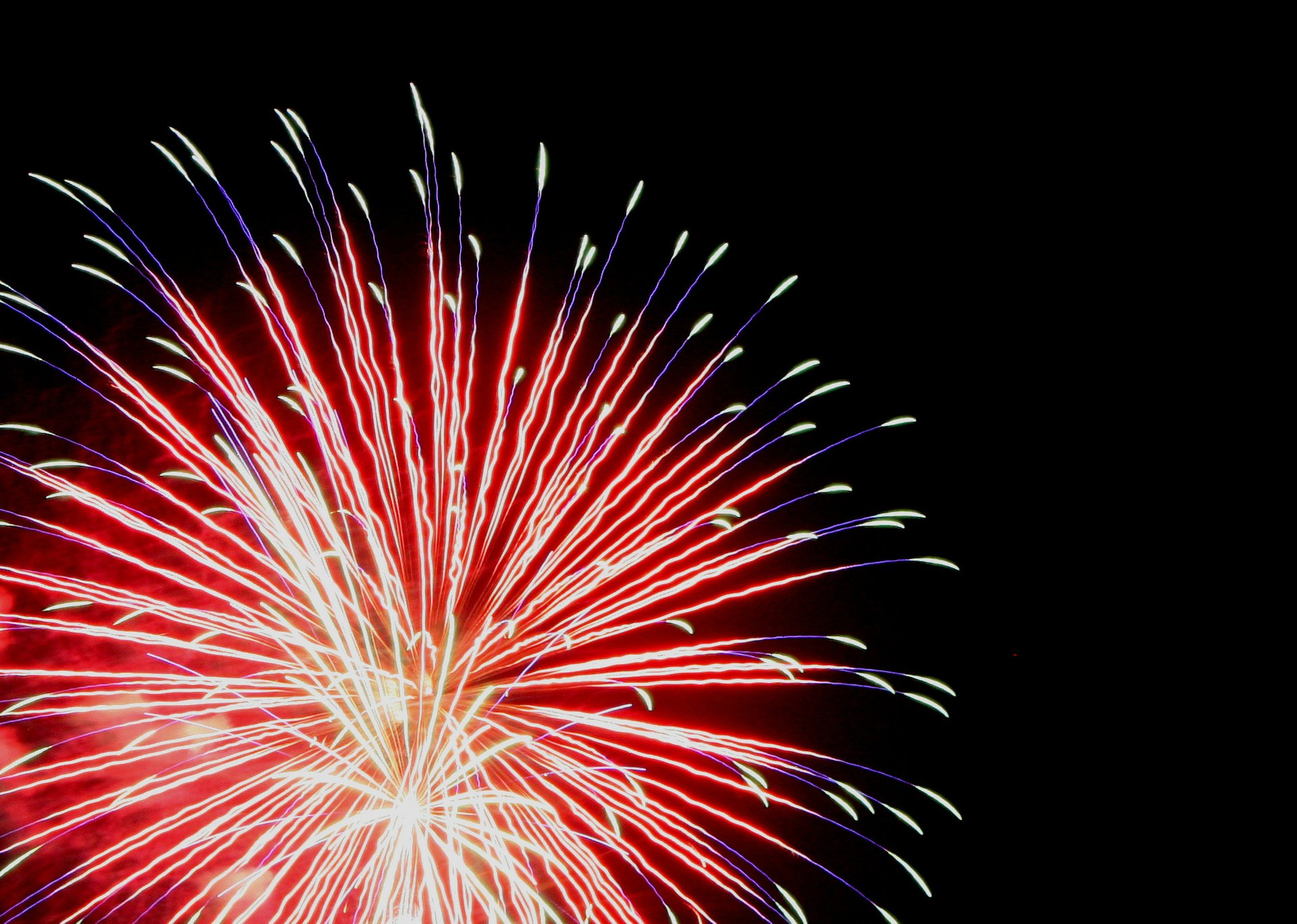 4th of July fireworks in Gaithersburg 2020