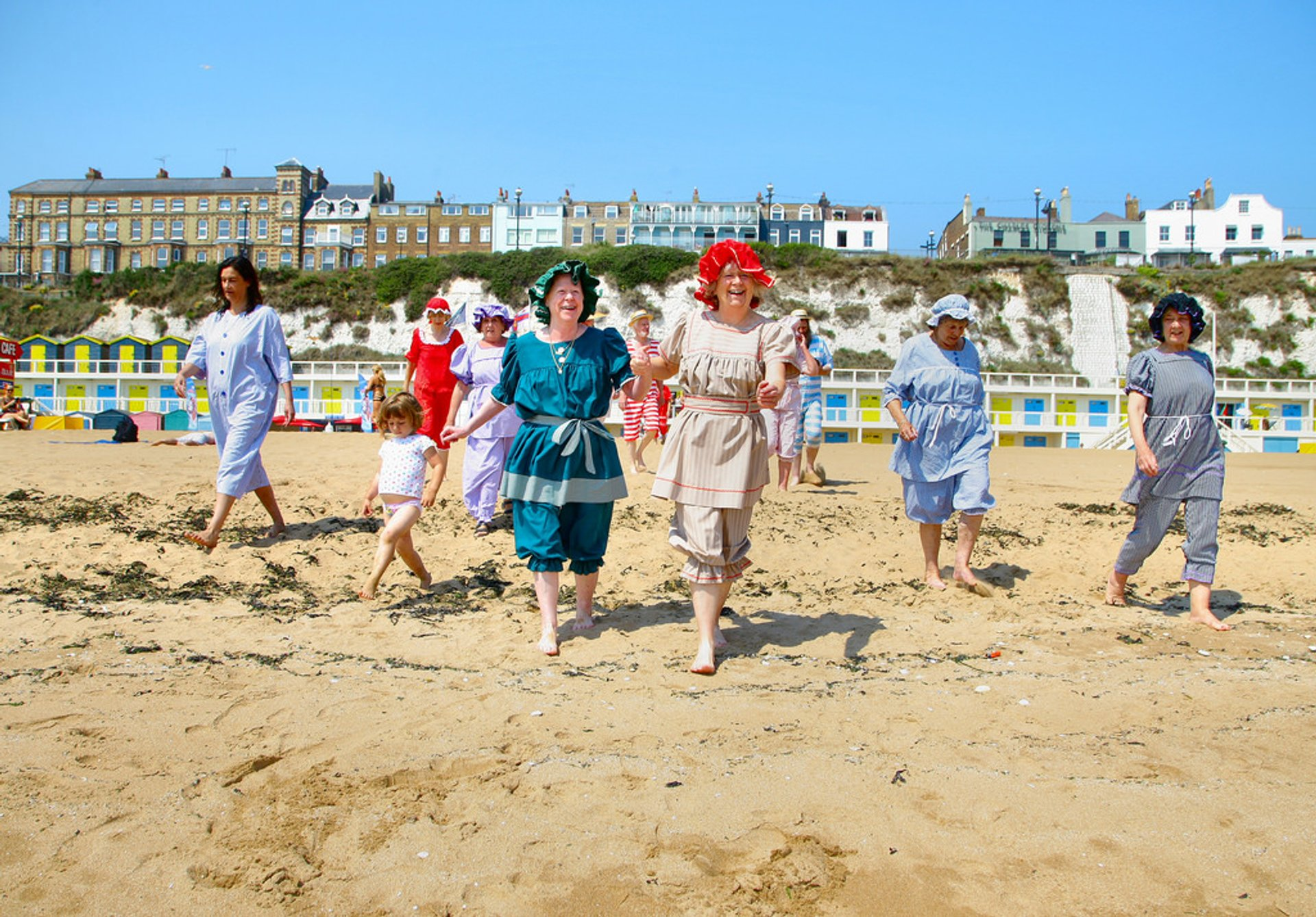 Best time to see Broadstairs Dickens Festival in England 2019