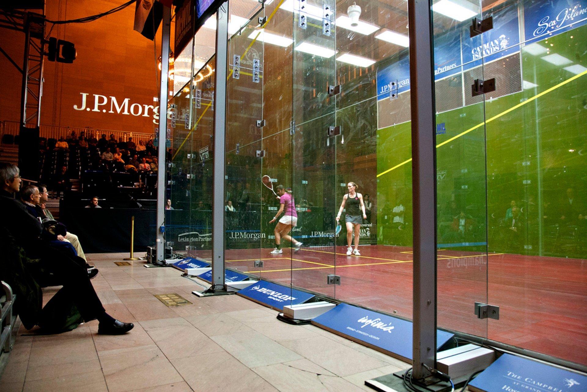 Tournament of Champions Squash in New York - Best Season 2020