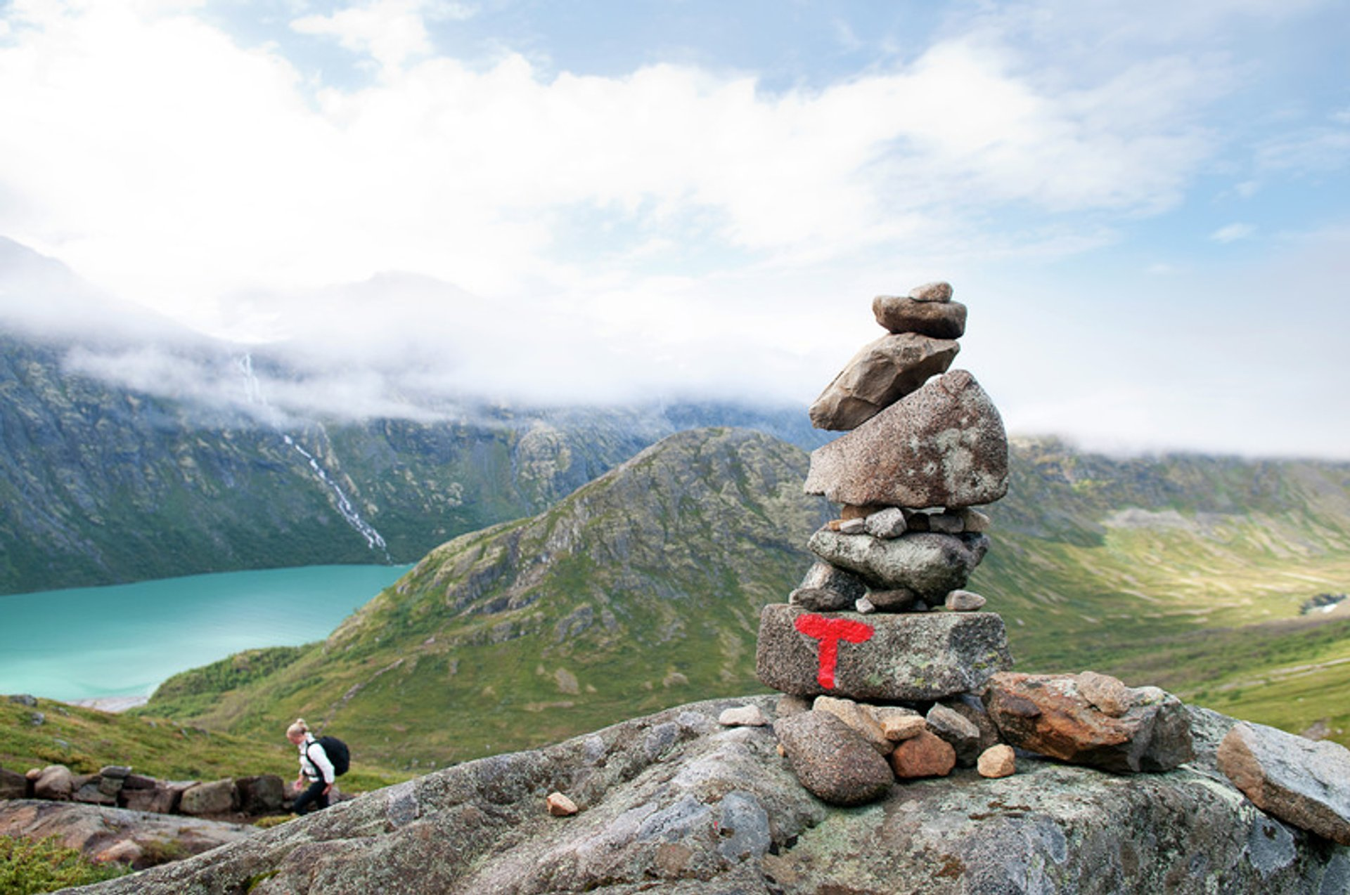 Hiking the Besseggen Ridge 2019