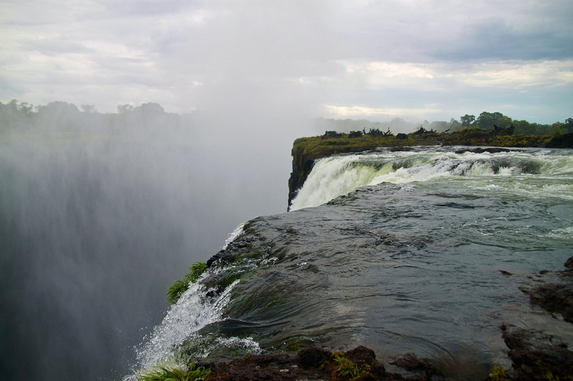 Best time for Devil's Pool in Zambia
