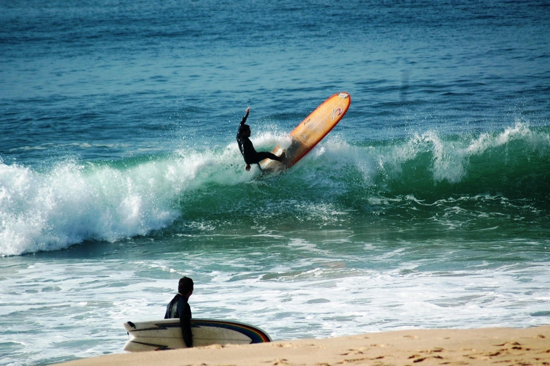 Surfing Atlantic in Portugal - Best Season 2019
