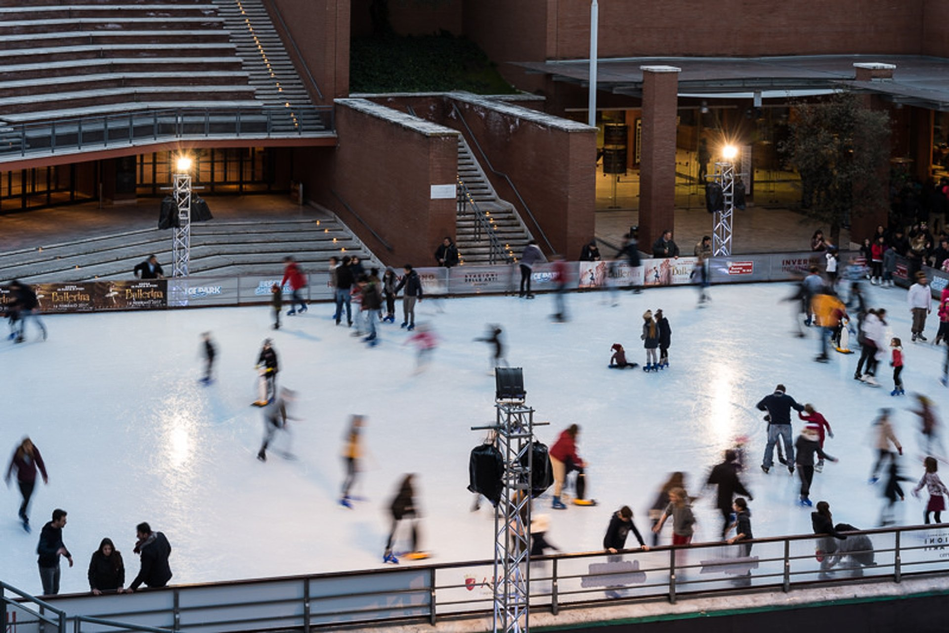 Ice Skating in Rome 2020 - Best Time