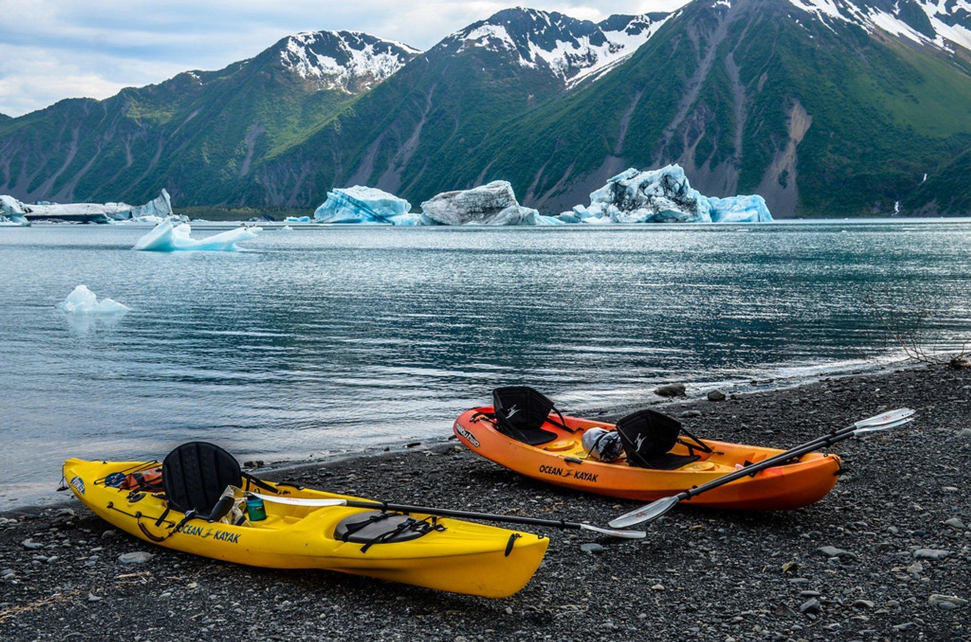 Bear Glacier, Kenai Peninsula Borough, Alaska