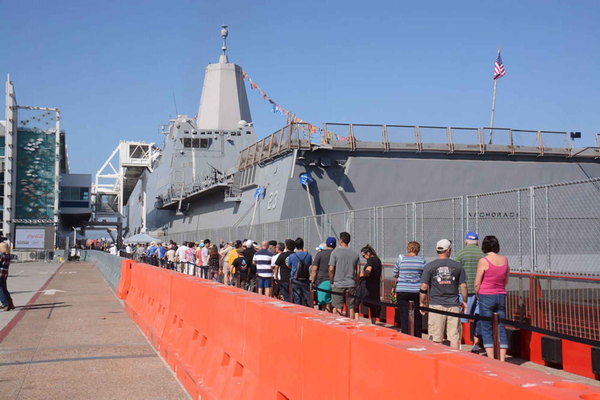 Best time for Fleet Week San Diego 2019