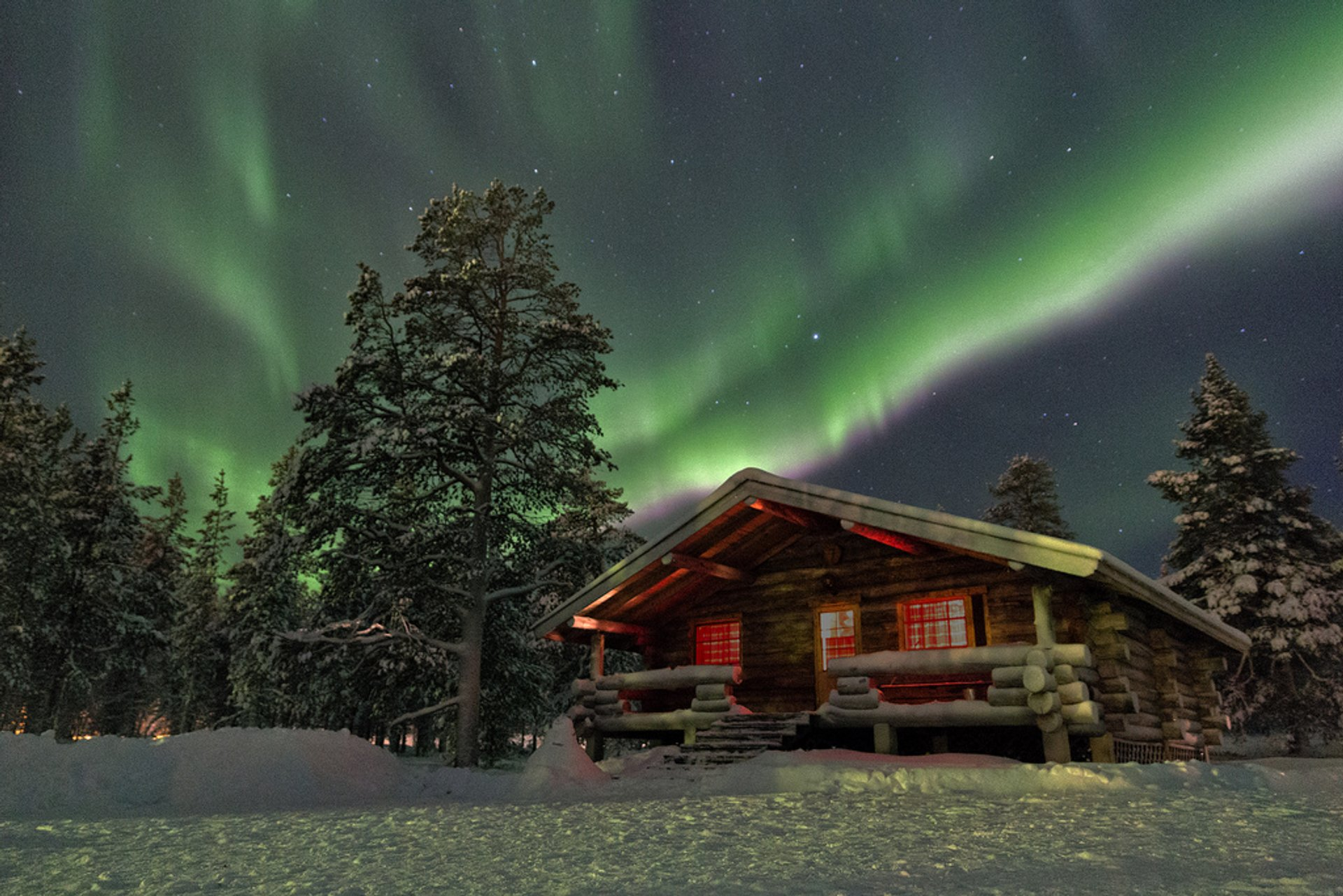 Best time for Northern Lights in Finland 2020