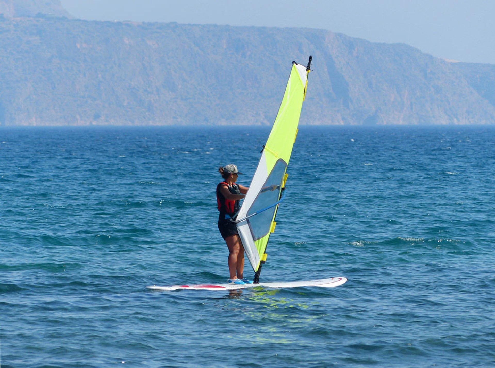 Windsurfing in Crete - Best Season 2019