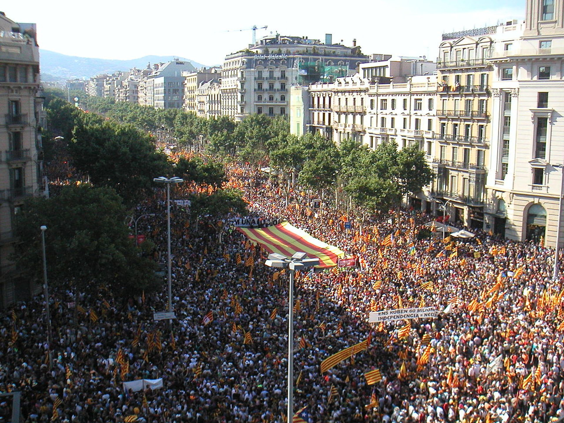 Diada Nacional de Catalunya in Barcelona - Best Season 2019