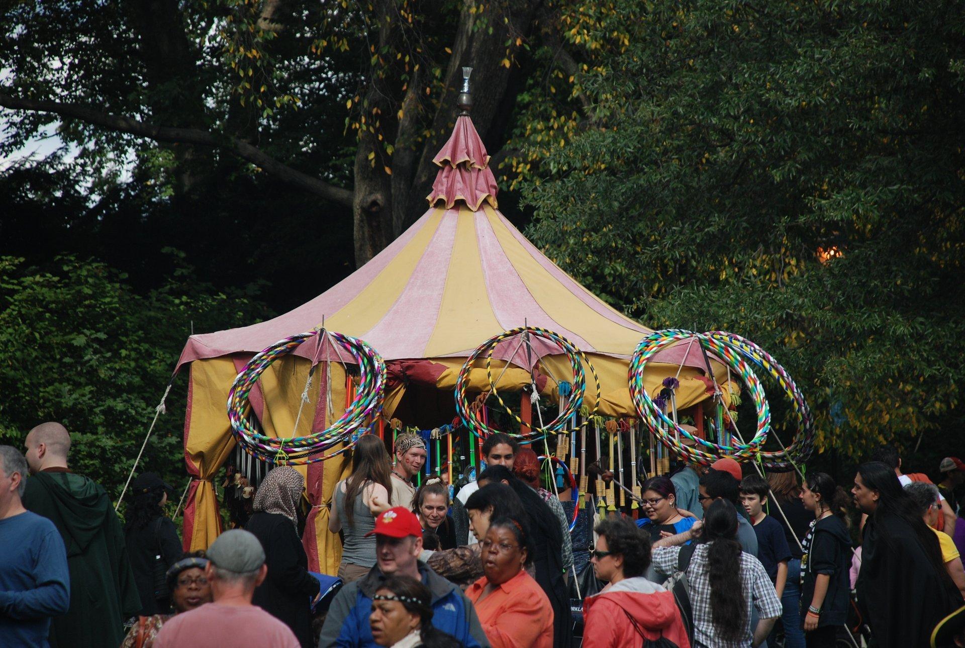 Hula Hoop Tent 2020