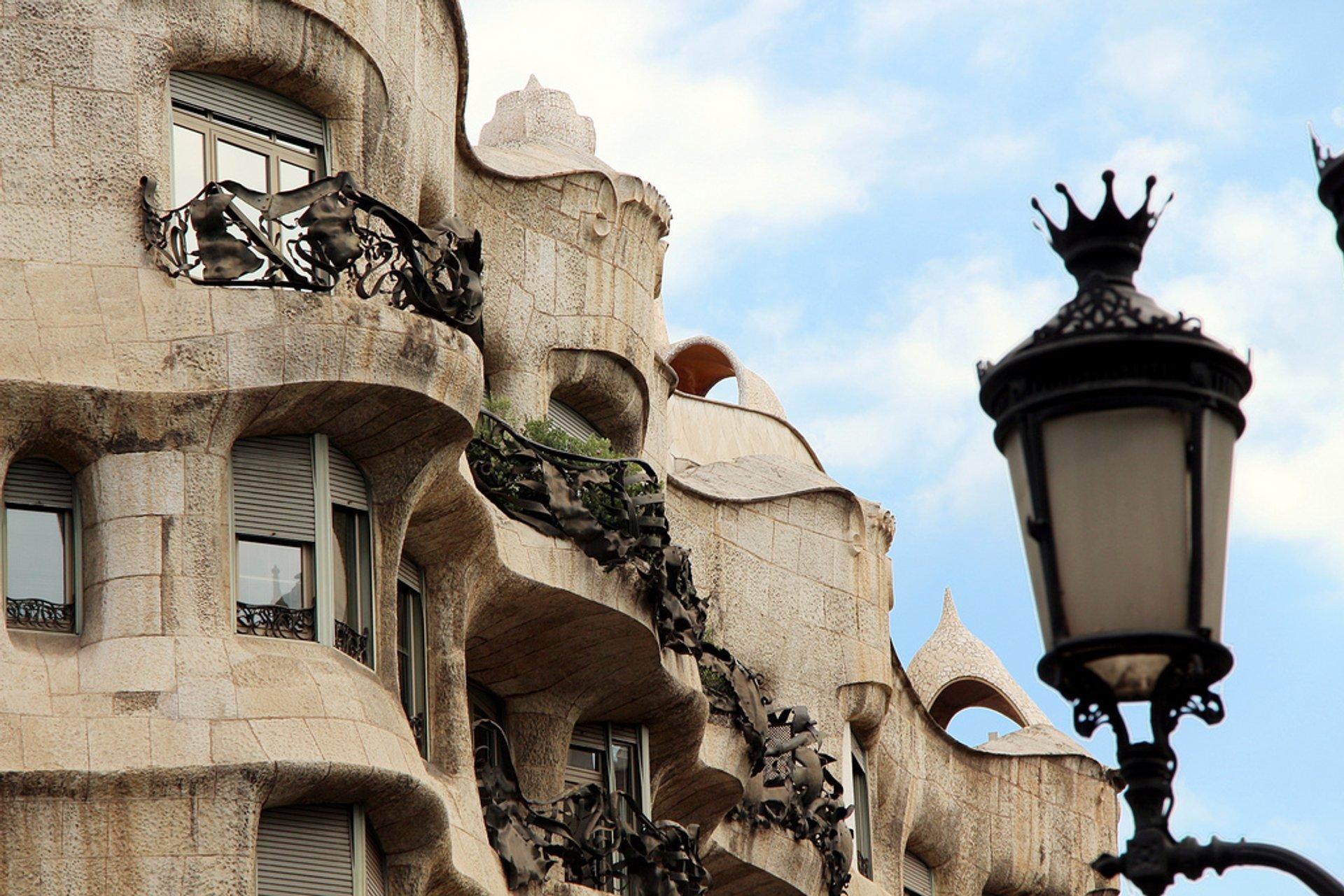Casa Milà (La Pedrera) in Barcelona - Best Season 2020