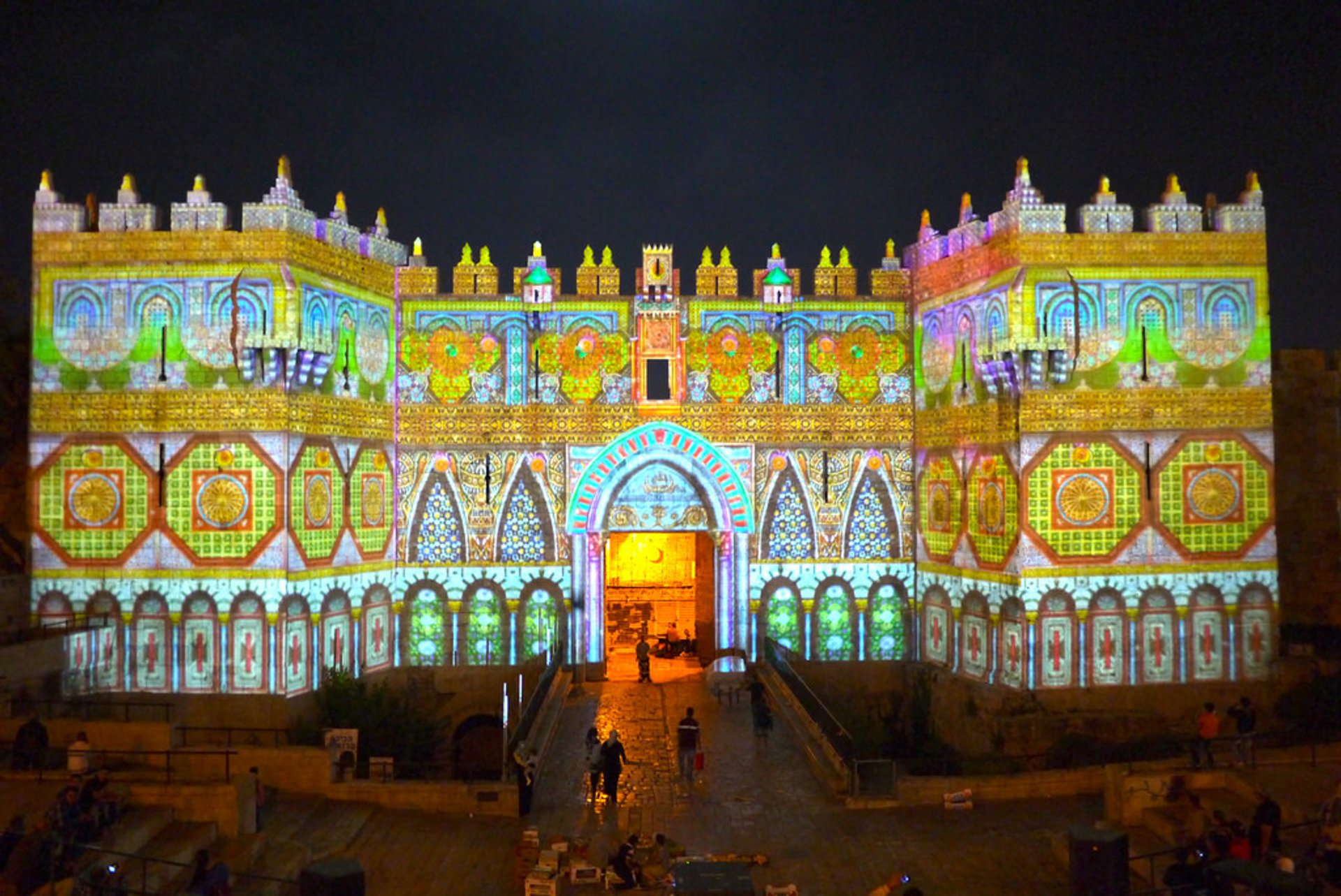 Jerusalem Light Festival in Israel - Best Season 2019