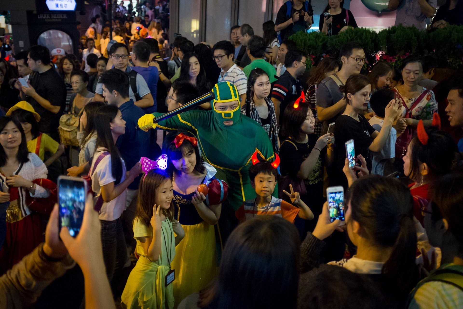 Lan Kwai Fong Halloween Street Party 2020