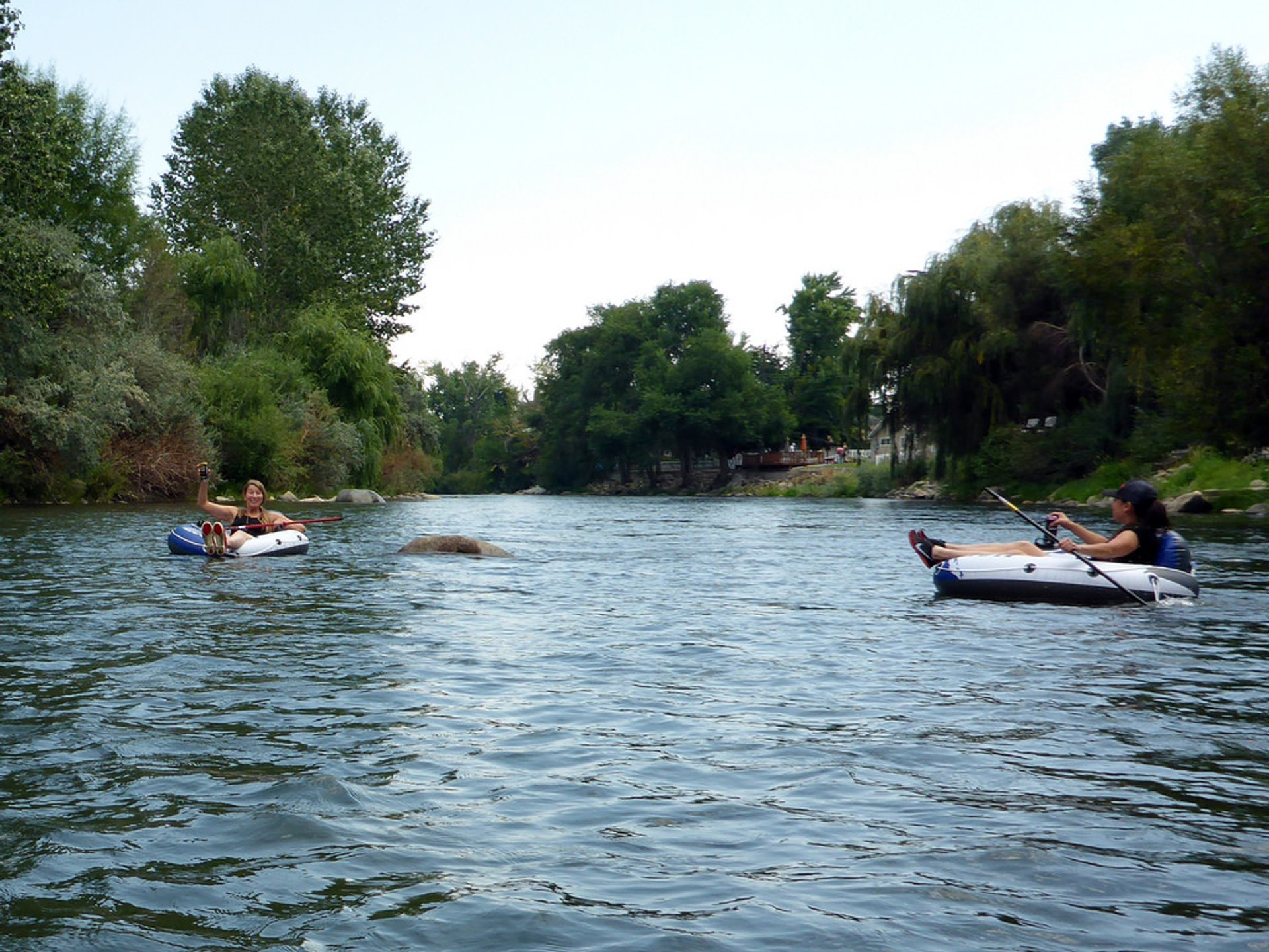 Best time for Truckee River Tubing in Nevada 2020
