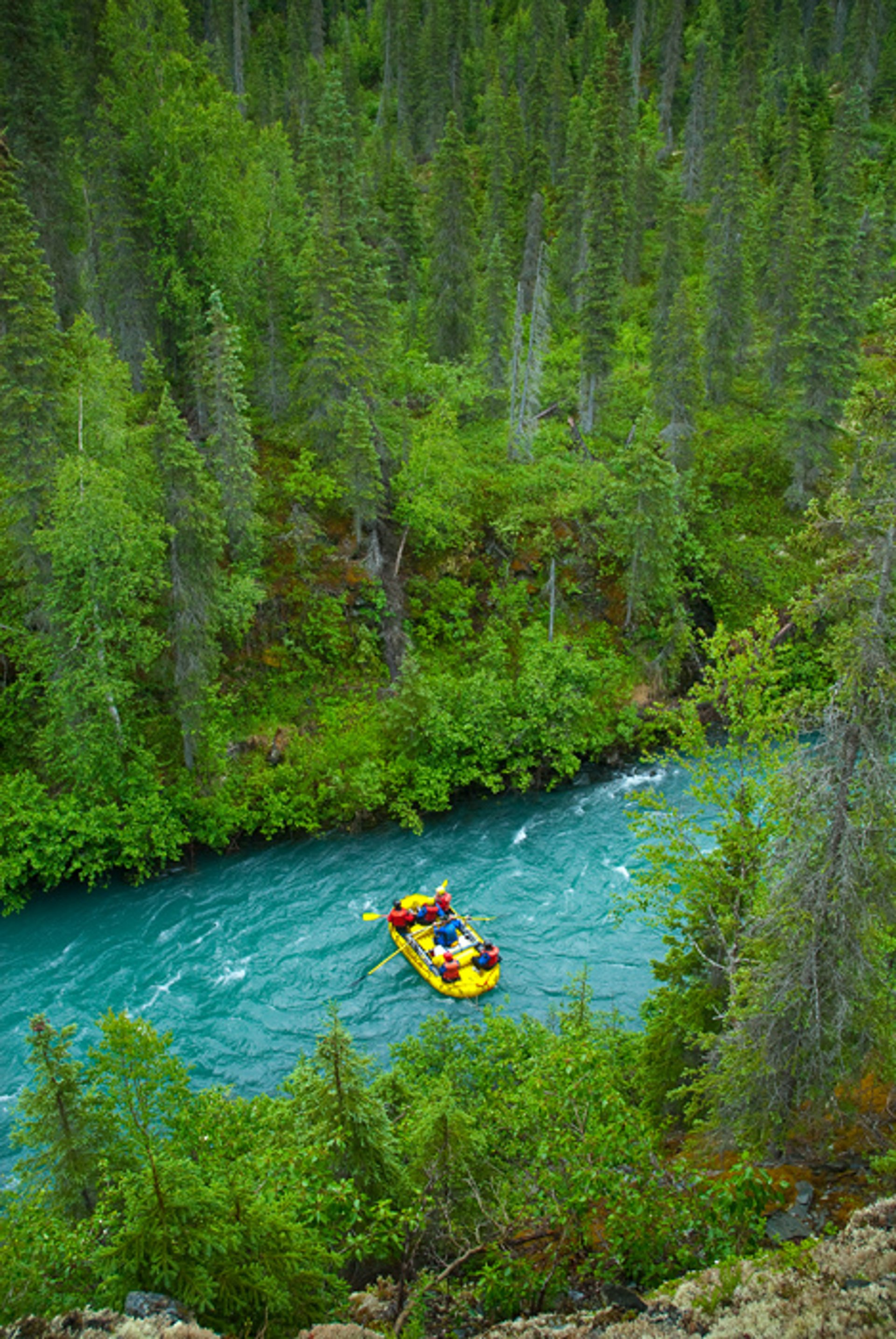 Rafting in Alaska - Best Season 2019