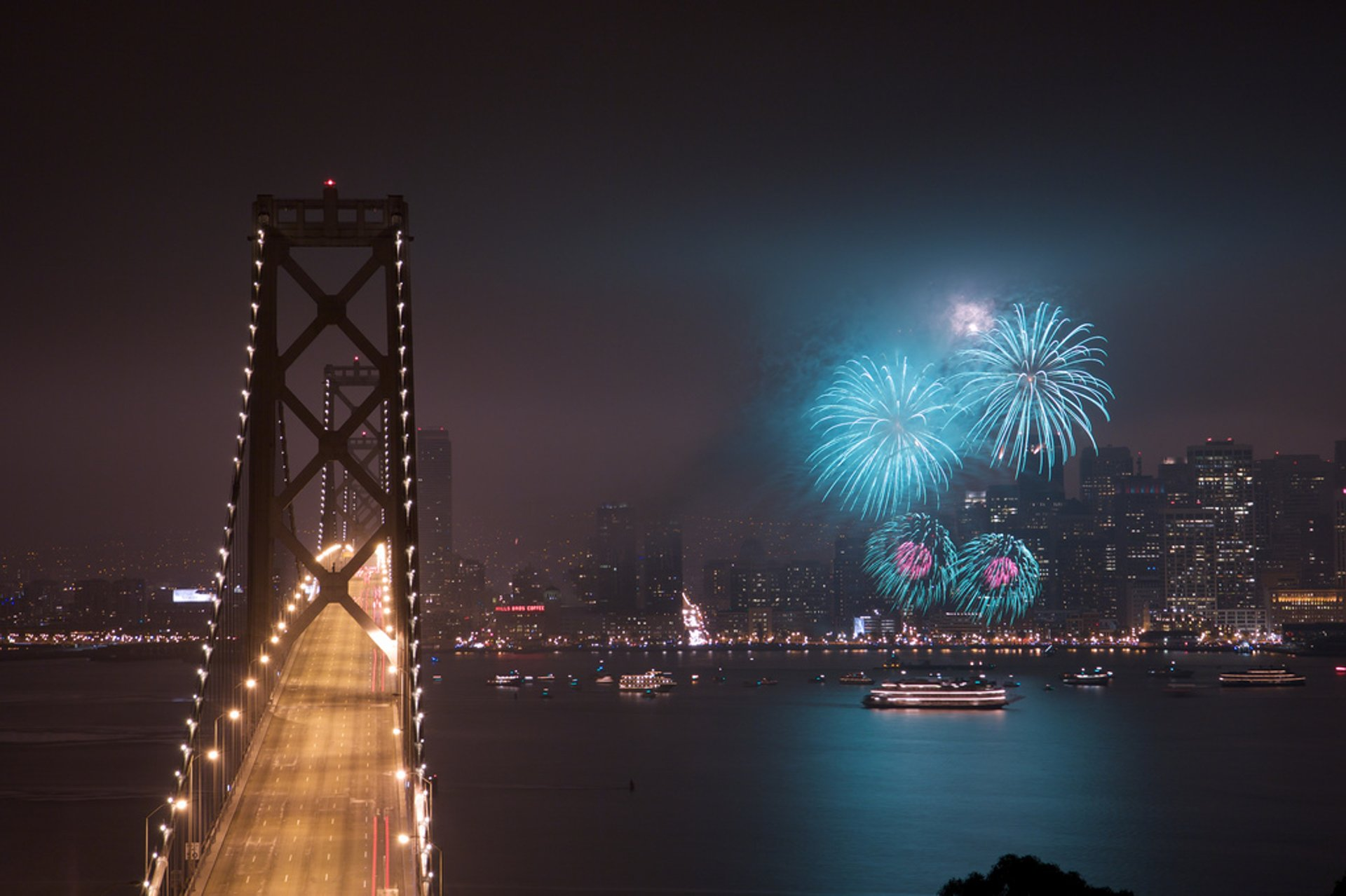 New Year's Eve Fireworks in San Francisco - Best Season 2020