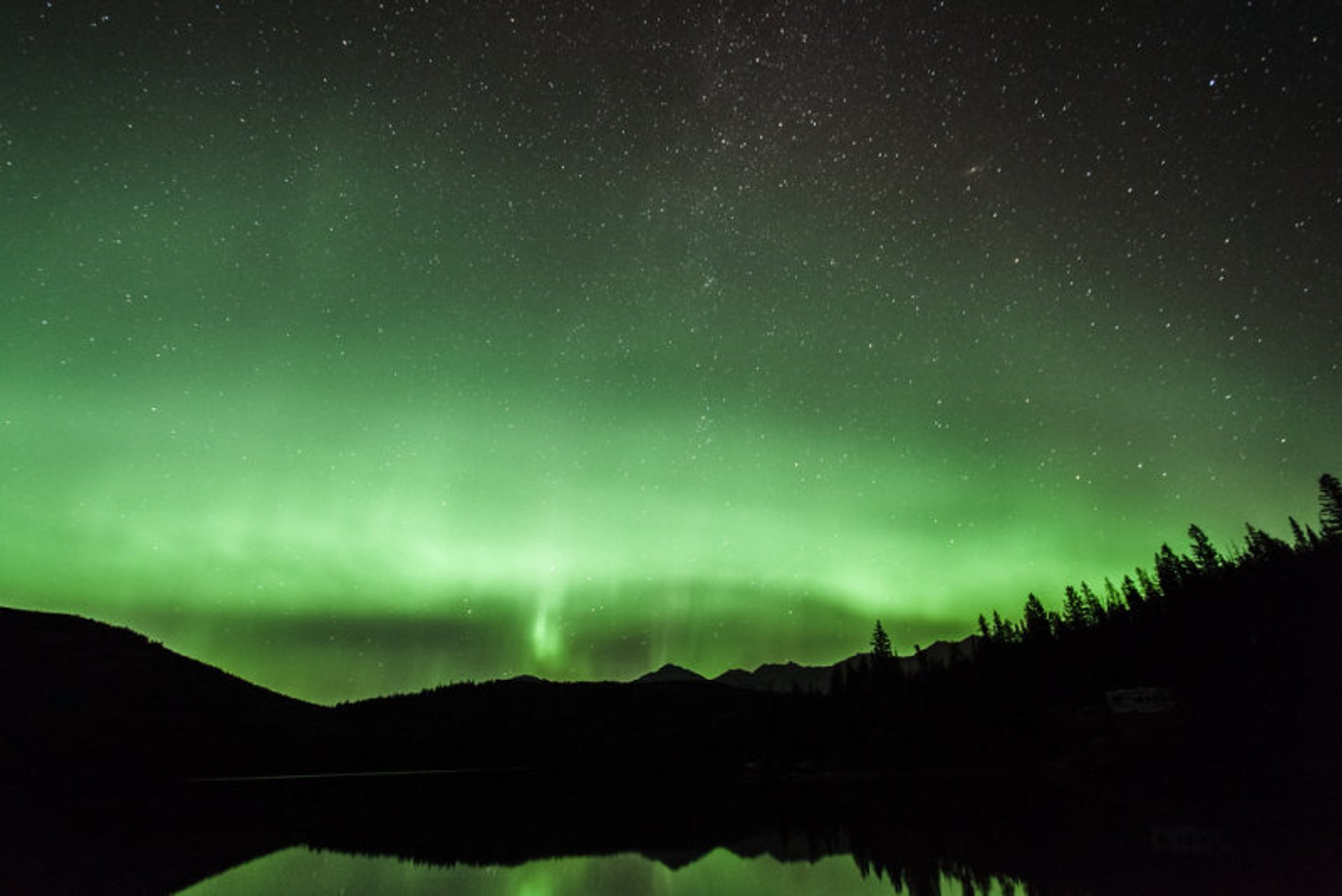 Northern Lights over Jasper 2020