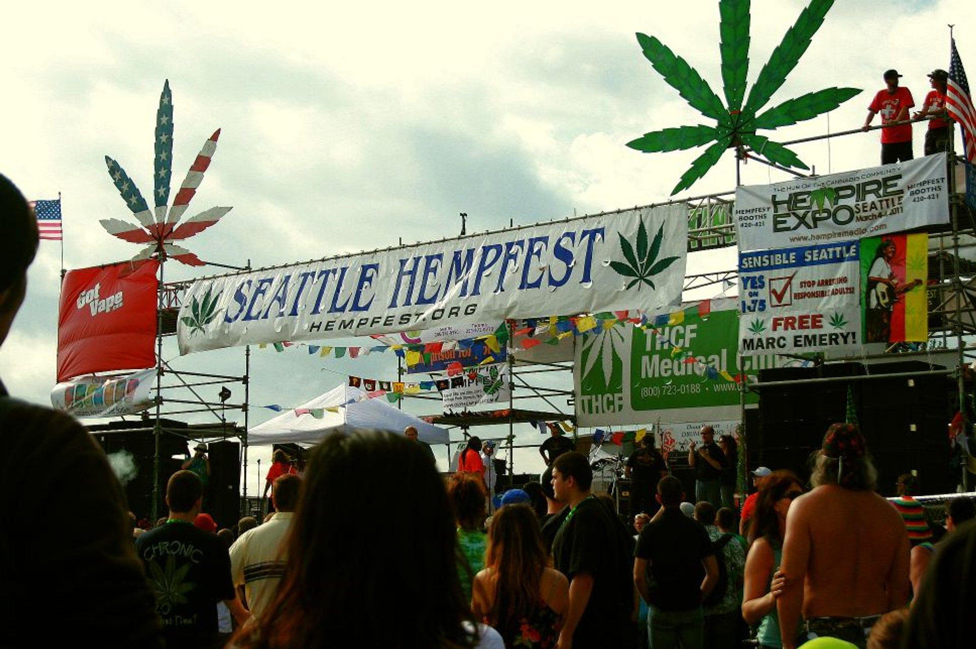 Seattle Hempfest in Seattle - Best Season 2020