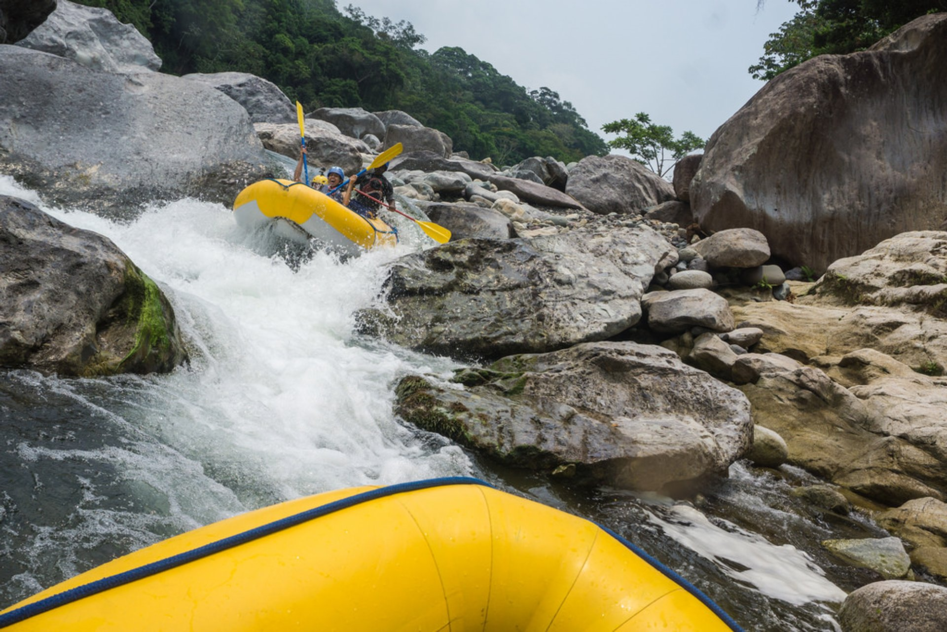 Best time for Whitewater Rafting and Kayaking in Honduras 2020