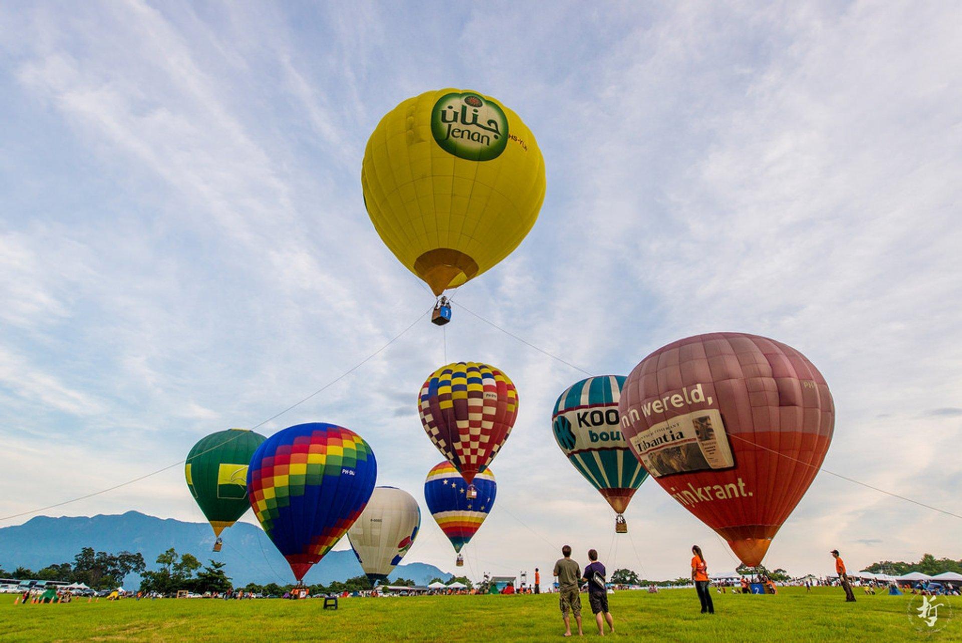 Taiwan Balloon Festival in Taiwan - Best Season