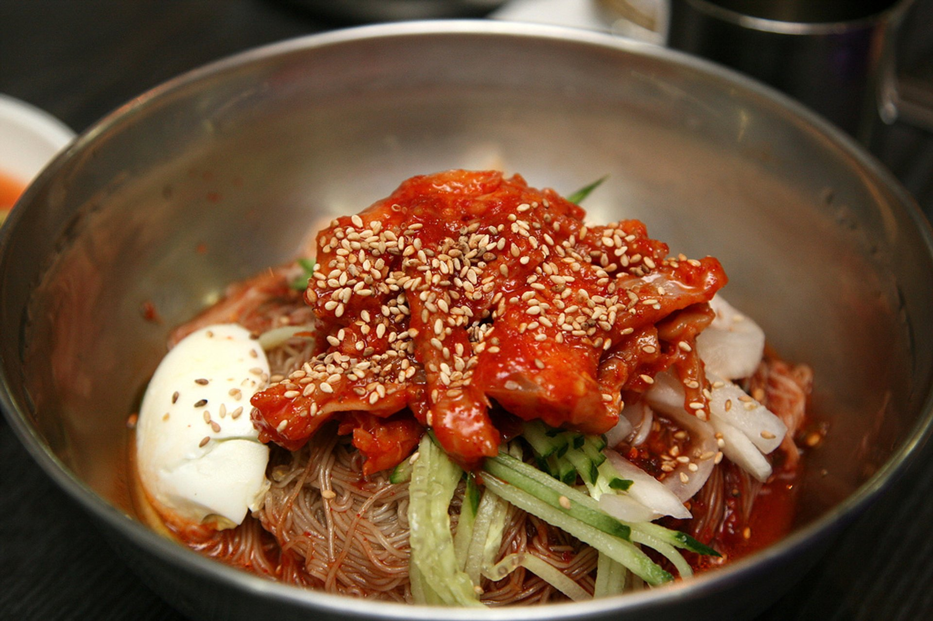 Cold Naengmyeon Noodles on the Coldest Day in South Korea 2020 - Best Time