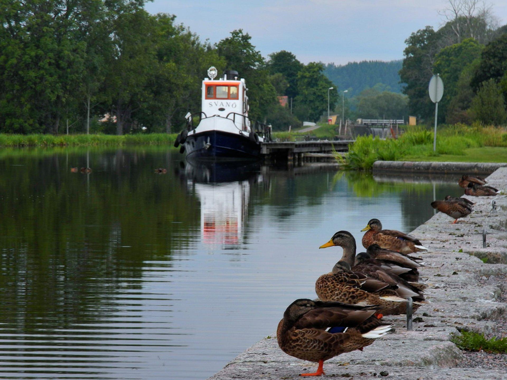 Göta Canal Season in Sweden - Best Season 2020
