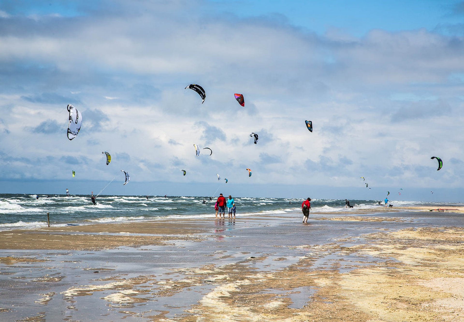 Kitesurfing and Windsurfing in Denmark 2020 - Best Time