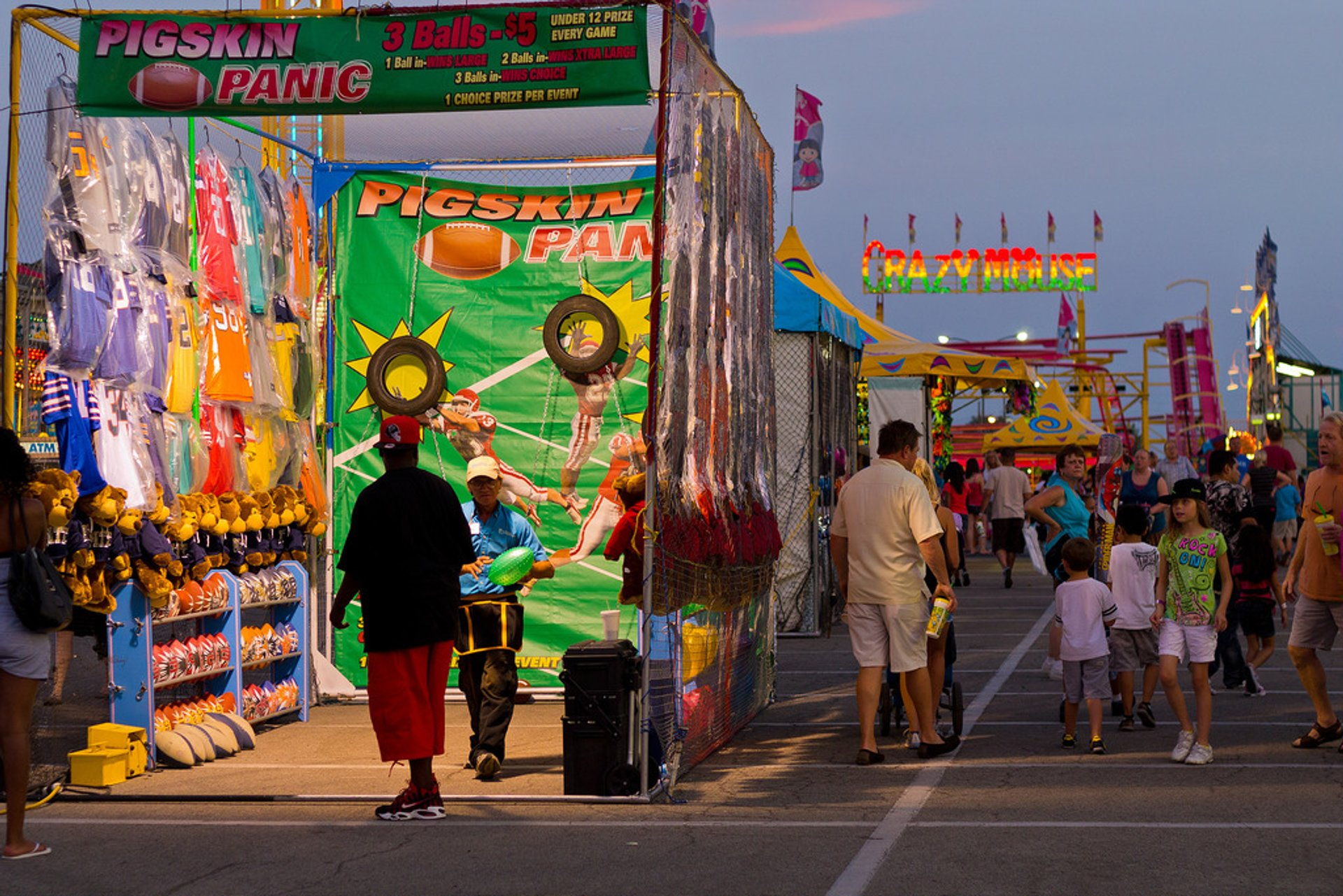Best time for Indiana State Fair
