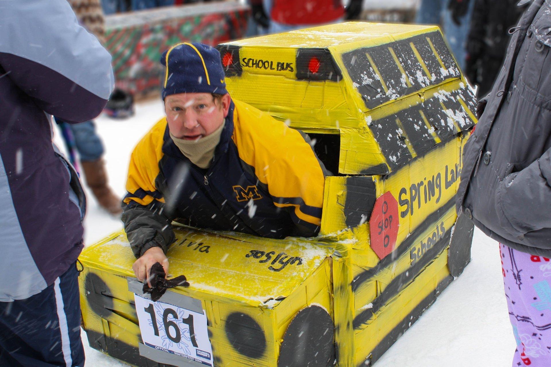 Cardboard Sled Race 2020