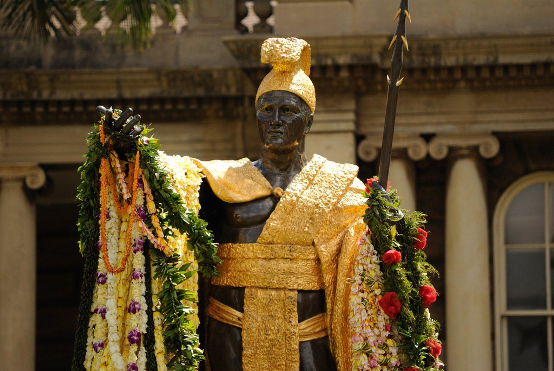 Kamehameha Day in Hawaii - Best Time