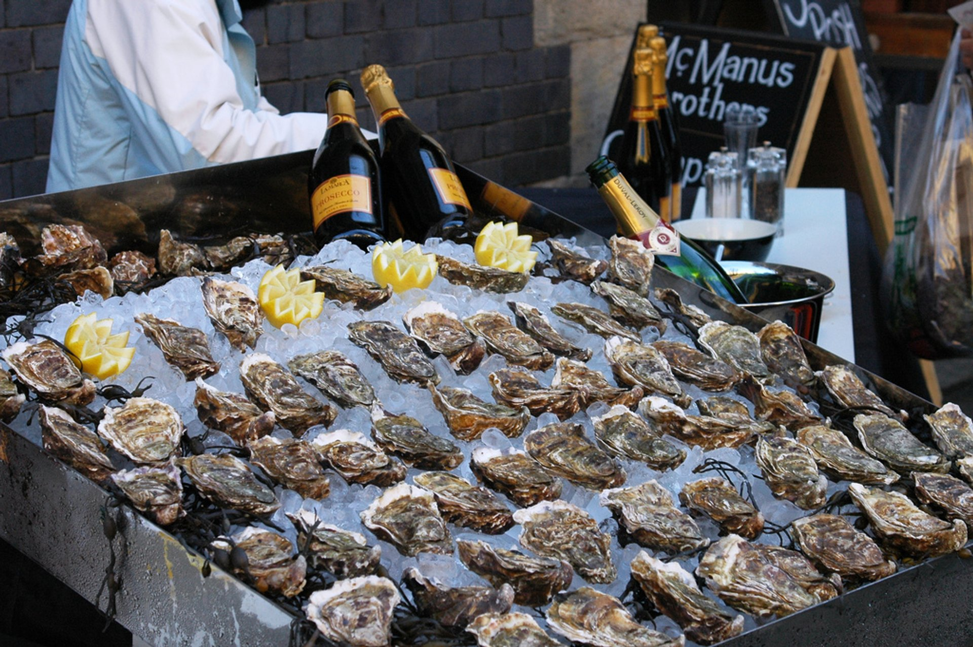 Oysters in London - Best Season 2020