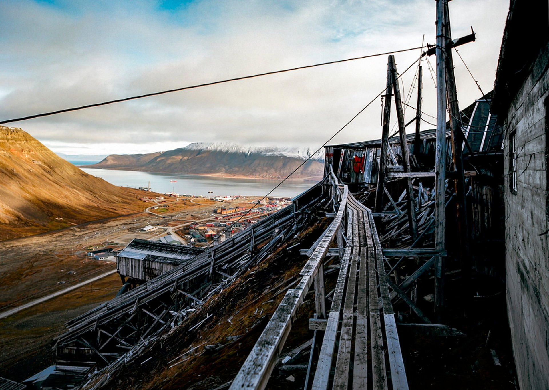 Abandoned Coal Mines in Svalbard - Best Season 2020