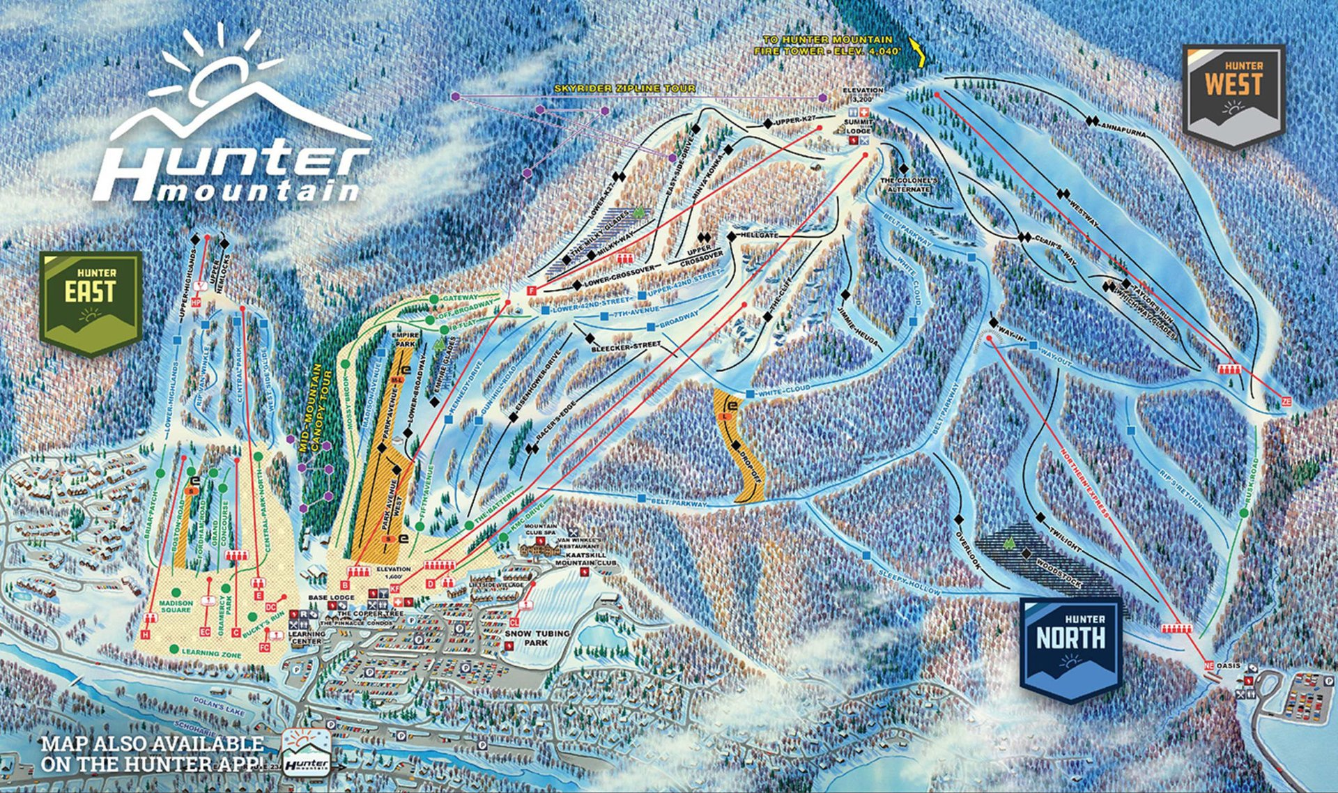 Skiing near NYC: The Catskill Mountains in New York State - Best Season 2020
