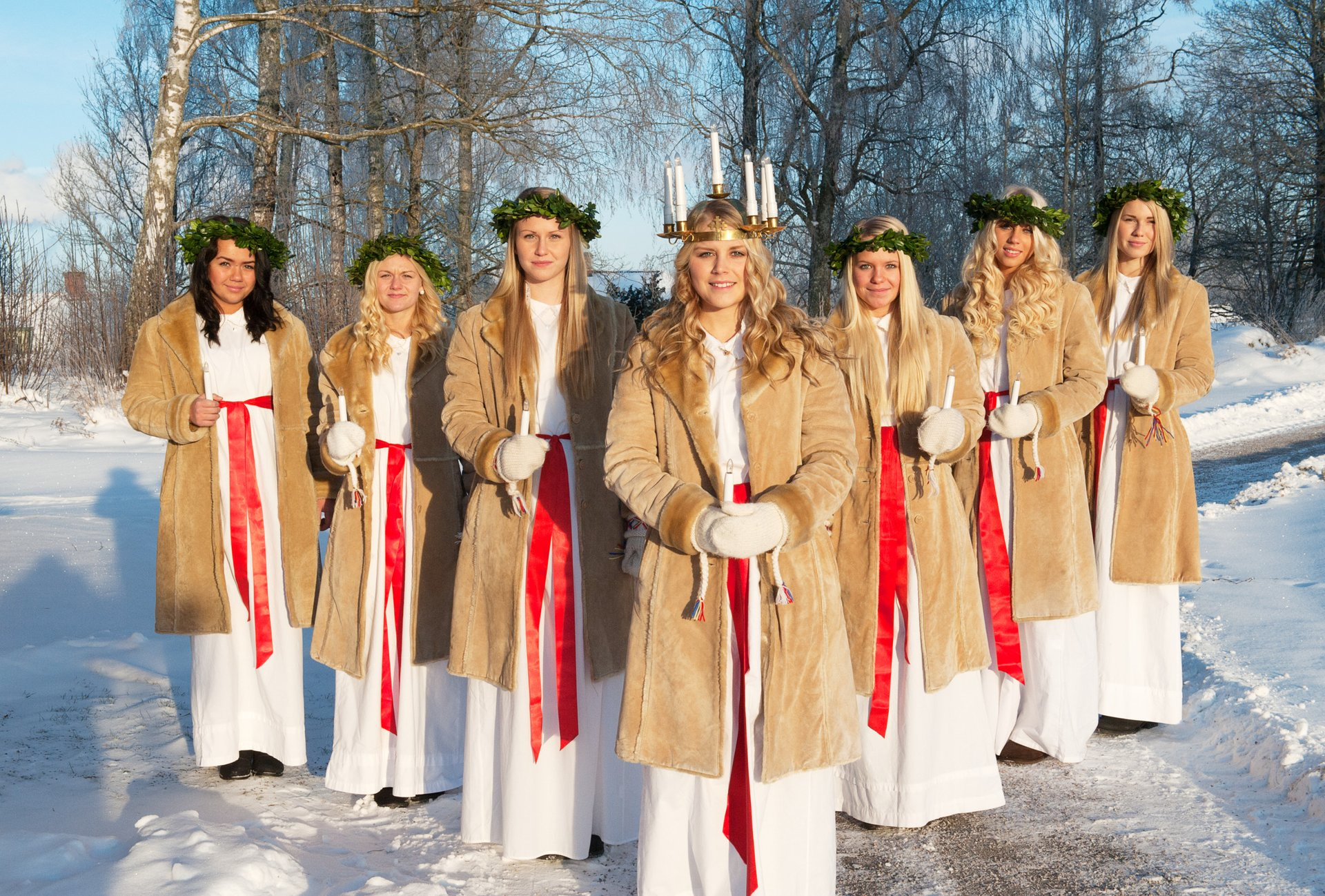 Lucia Day in Köping, Sweden 2020