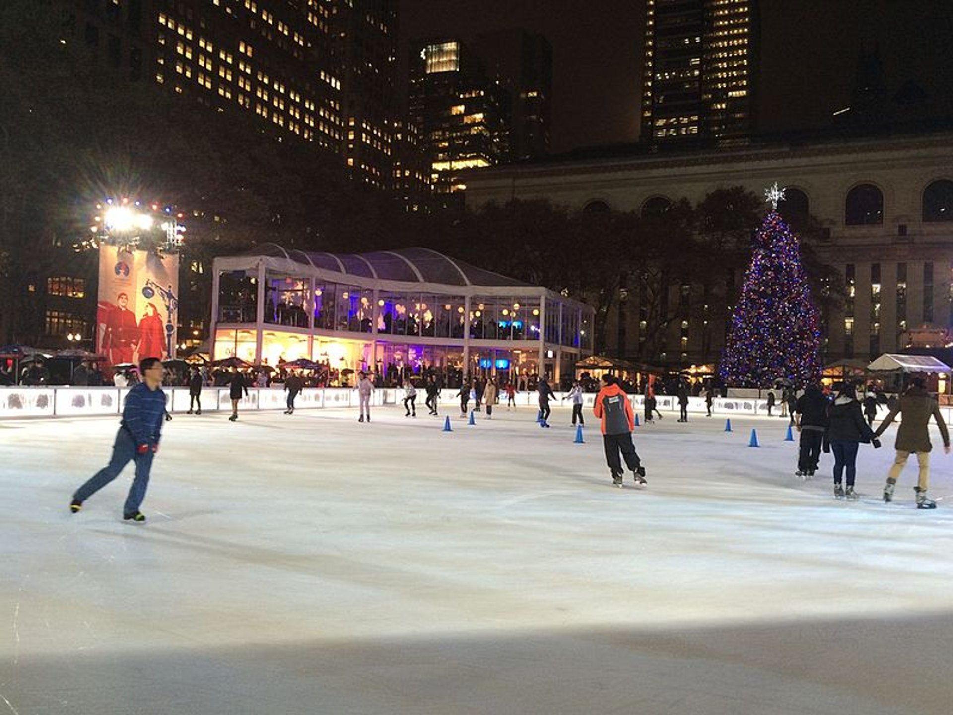 Best time for ​Winter Village at Bryant Park in New York 2020
