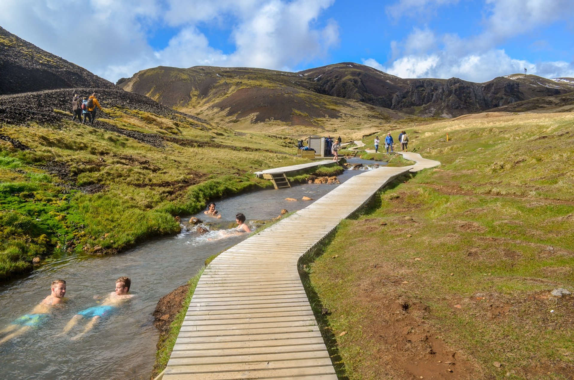 Reykjadalur Hot Springs in Iceland 2020 - Best Time