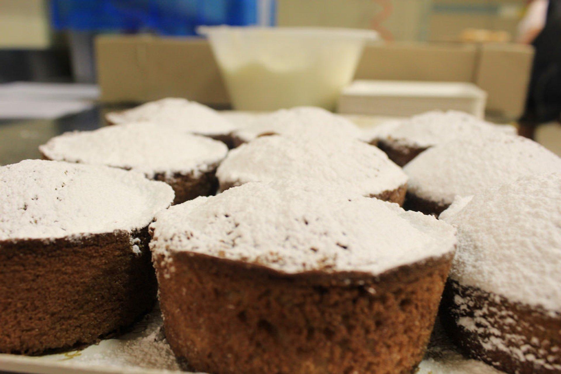 Chestnut flour cakes 2020