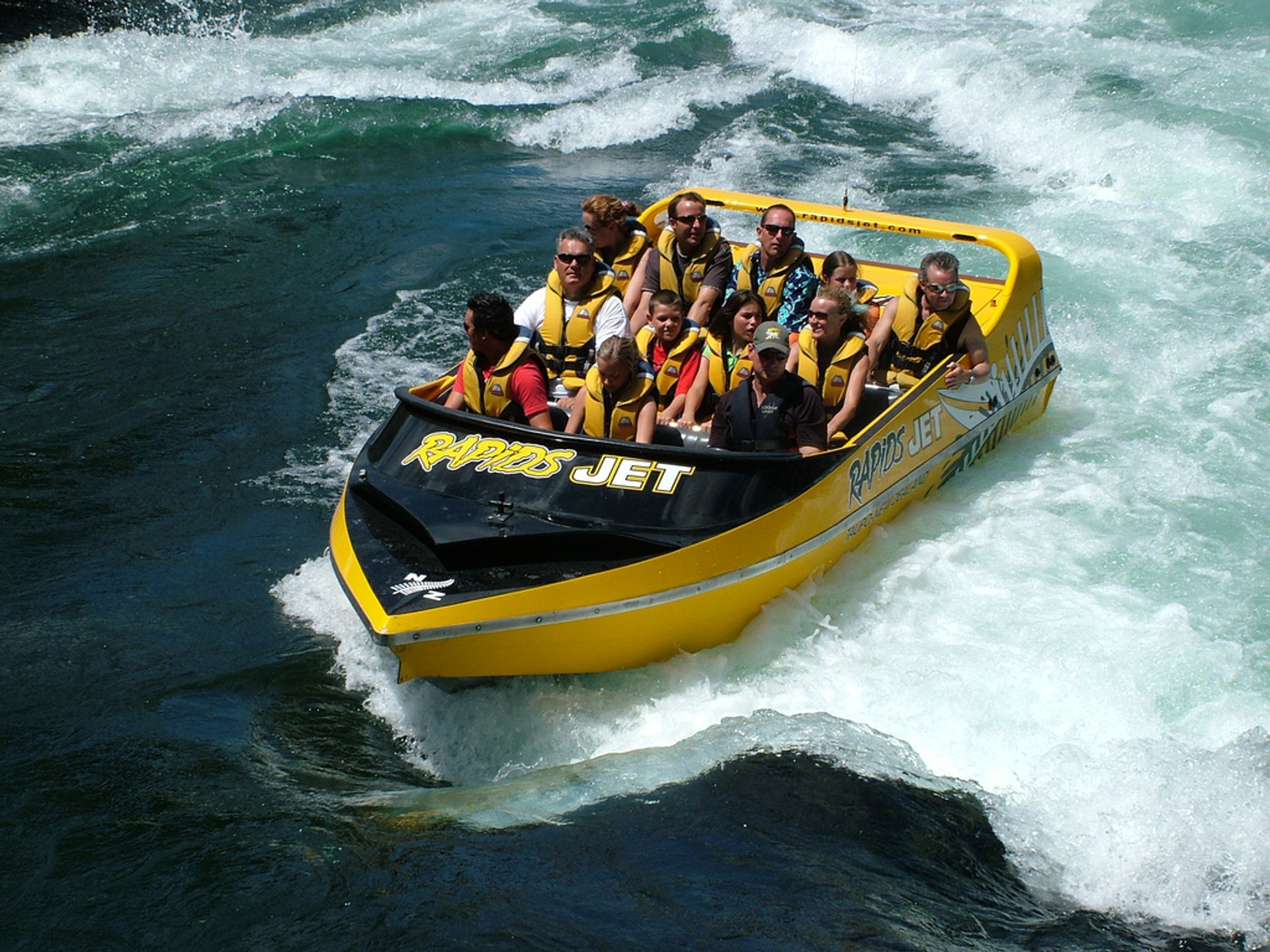 Jet Boating in New Zealand - Best Time