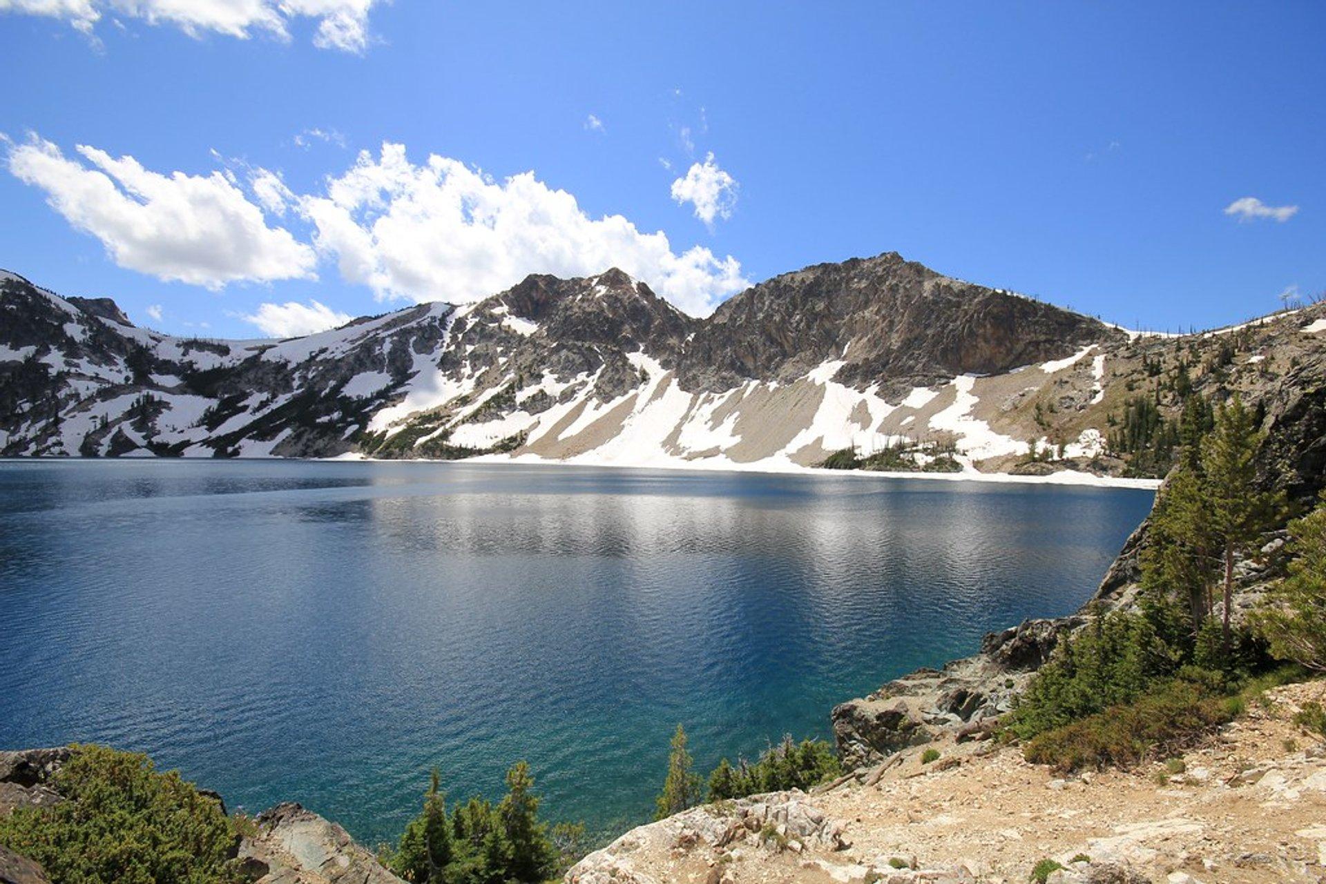 Sawtooth Lake in Idaho - Best Season 2020