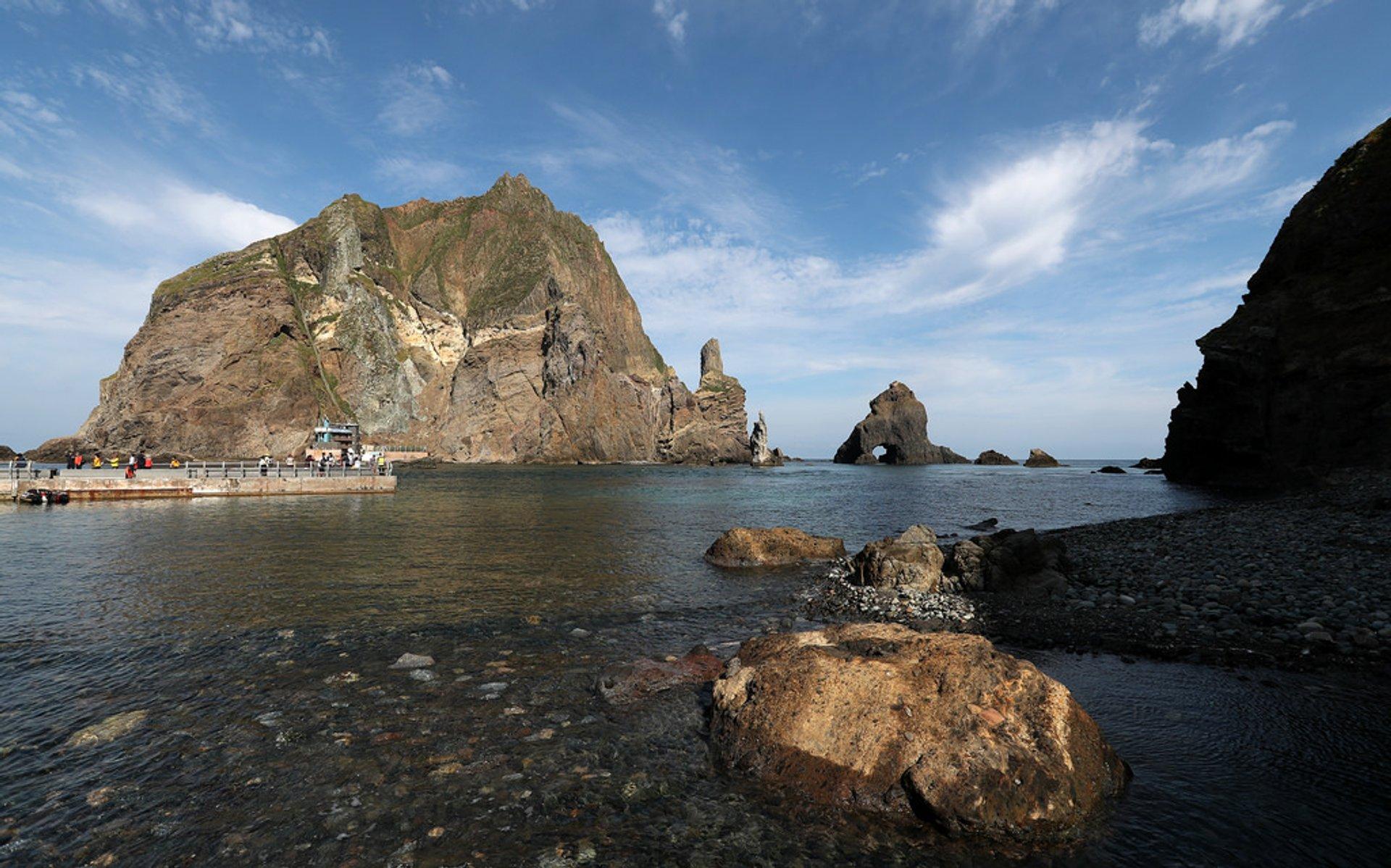 Liancourt Rocks (Dokdo) in South Korea - Best Season 2020