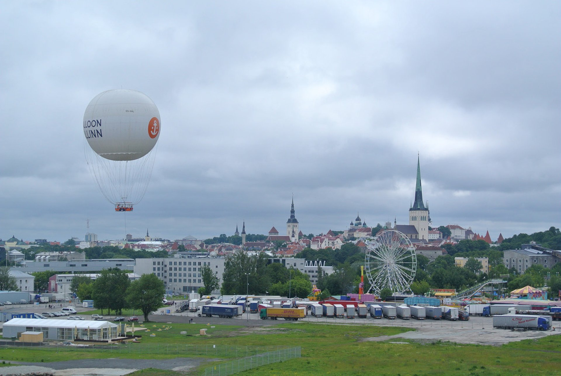 Best time to see Balloon Tallinn in Estonia 2019