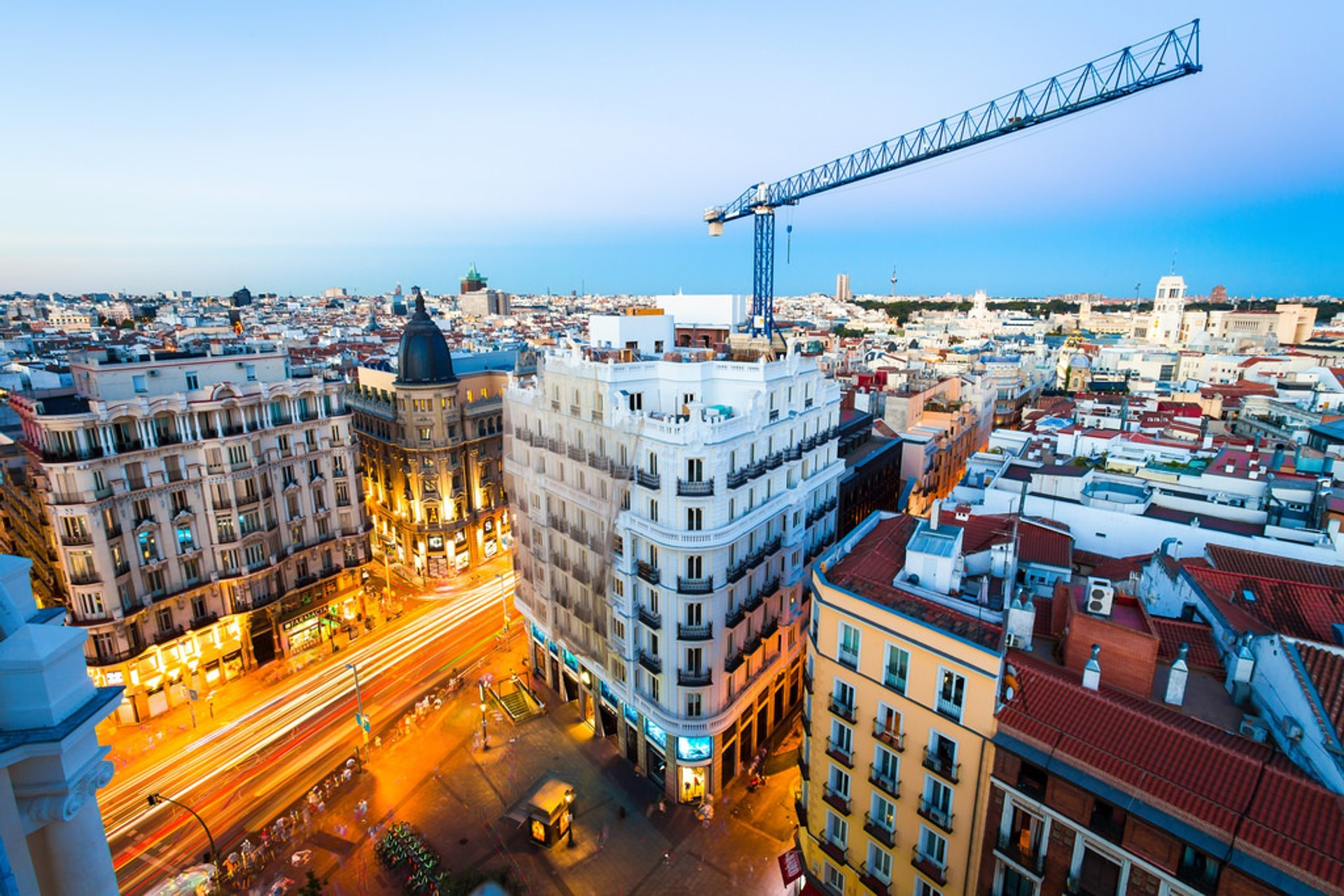 Rooftop Terraces at Sunset in Madrid - Best Season 2020